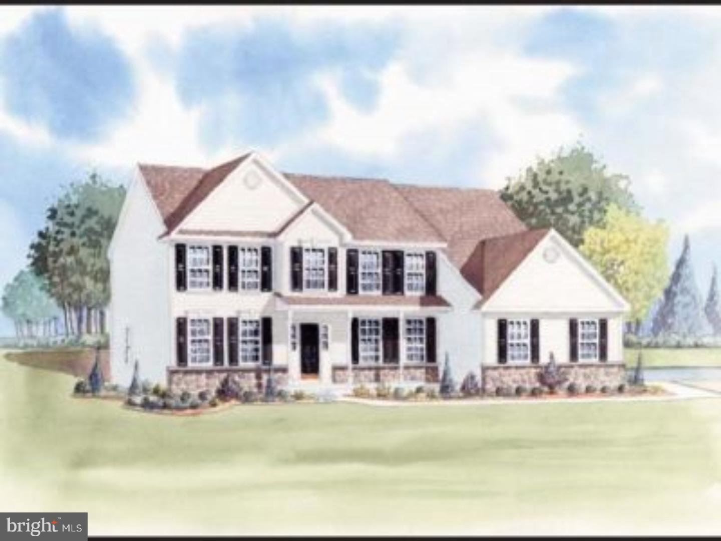 Greenspring model- to be built. Large eat-in kitchen with granite counter tops, 2 story foyer and familyroom, formal living room and dining room. The first floor study can easily be converted to an additional bedroom if needed. All bedrooms are generously sized with several different layouts for the master bedroom suite. All home sites are half acre lots with side turned garages and a stone water table.