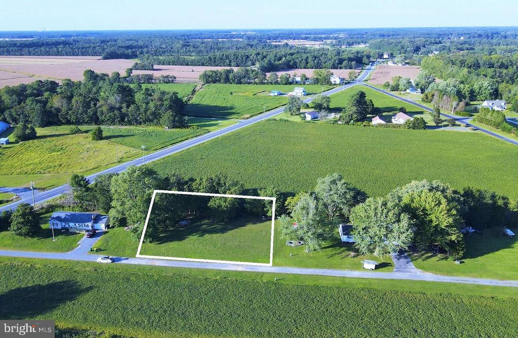Build your dream home on this large parcel located in a quiet area with a peaceful setting just 10 miles from Fenwick Island or Bethany Beach. This 166 x 108 lot offers plenty of space to put in a pool, store your boat, or park your RV without any HOA restrictions or fees. Public water and sewer connections available.