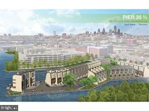Once in a Lifetime opportunity to BUILD the only riverfront homes available in center city Philadelphia. A home run deal for a capable builder. Pier 35 1/2 will have (41) waterfront estates with spectacular views, 2-car parking plus guest parking. The homes are projected to resell for $1,800,000 to $2,000,000 each.  The demand for this type of home on the water is extremely strong.. Phase 1, Phase 2 and Geotech available for review.  Zoning Permit in hand and available for review as well. Email or call for a brochure!! Interest rates are at historic lows, put some capital to use. The Philly  Luxury  market is on fire !!   The City of Philadelphia has approved and fully funded over $300,000,000 worth of improvements to the Delaware riverfront and work has begun. The plans are amazing!!  The link to the city plans is in our attached brochure.
