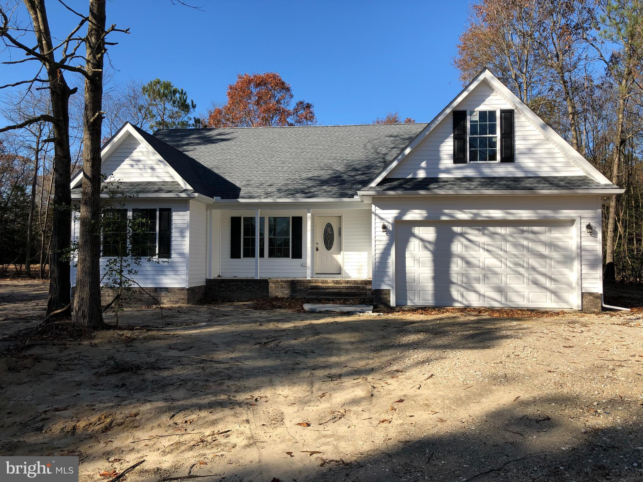 Truly a great floorplan on a cleared lot in North Towns End II. Home features LVP flooring in main living areas, stainless appliances, granite countertops, front porch, patio off the sunroom and a second floor that can be finished. Put you name on this so you can pick your color scheme!