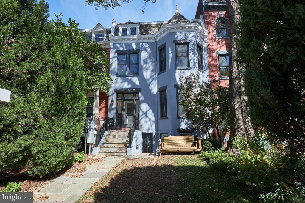 This Colossal Capitol Hill Classic offers the charm and space for which everyone is searching! Curb appeal at its finest, 806 Massachusetts Avenue is set back from the street with a beautiful front yard. Pass through a fantastic foyer to a fabulous first floor. Enjoy the enormous living room with sun beaming through the bay window, the large dining room with gas fireplace, and spacious eat-in kitchen highlighting the function, form and flow! The gorgeous stairwell skylight cascades color towards the second floor where you will find an enormous main bedroom equipped with an en-suite bathroom. Two sizable bedrooms and one hall bathroom round out this lovely livable layout. In the rear, the deck off the kitchen is perfect for a grill. The slate stone patio sporting a pergola gives you a serene oasis.   Separate and separately metered, potential income producing lower level boasts two bedrooms and one bathroom. The open concept kitchen, dining room, and living room make this a fantastic rental opportunity.  Perfectly positioned in Capitol Hill with a walk score of 87 and Biker?s score of 97, enjoy Lincoln Park, Stanton Park, Barracks Row, Eastern Market and everything the nation?s capital has to offer!