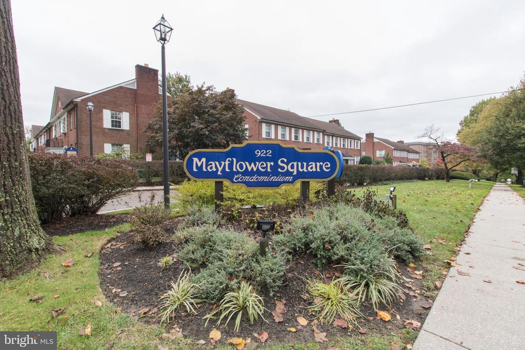 Great investment opportunity in Mayflower Square Condominiums!  This 2 bedroom, 1 bath unit has washer/dryer and is permitted by Lower Merion Township for student housing.  Unit is currently rented and subject to student housing lease until May of 2021.  Great rental history and permit is transferrable to the new owner.  New windows being installed this month for greater efficiency, newer stove and dishwasher.  Beautiful park like setting and very accessible to many schools, public transportation, highways and shopping.