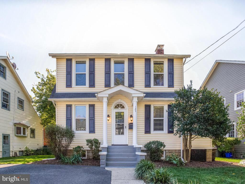 Charm meets style with this fabulous classic colonial in sought after Murray Hill!  This well cared for home has so much to offer and has been recently updated.  The hardwood floors were refinished and look outstanding!  There is a gorgeous light filled living room with a wood burning fireplace and custom built-ins.  Off the living room is the separate dining room that leads to the eat-in kitchen with brand new quartz countertops and upgraded cabinets and appliances!  Also off the living room is the spacious light-filled sunroom with a slider that walks out to a large patio and back yard.  The huge back yard is one of the best in Murray Hill and has tons of potential!  It has plenty of space for grilling and summer cook-outs, room for all the activities, and a storage shed!  There is a powder room on the main level.  The upper level has hardwood flooring and spacious bedrooms with lots of light!  There is a gorgeous full bath that adds to the charm of this home with a free standing pedestal tub and updated light fixtures and vanity.  The upper level also features a quaint extra room that would be great for reading, an office, or any hobby of choice!  The fully finished basement offers a rec room, plenty of recessed lights, wet bar, and a full bath with a stand-up shower, ceramic tile, new vanity, and light fixture.  The exterior of the home has beautiful landscaping to accompany the exceptional yard, and a large paved driveway that offers ample off-street parking.  With the outstanding location of this home, you?re within seconds of Maryland Hall and just a short stroll to downtown with all the dining, shopping and nightlife Annapolis has to offer!  Murray Hill is a water oriented community with direct water access to Spa Creek!  The home is within 45 minutes to DC and Baltimore, as well as a few hours from beaches and the mountains.  Truly an outstanding place to call home!