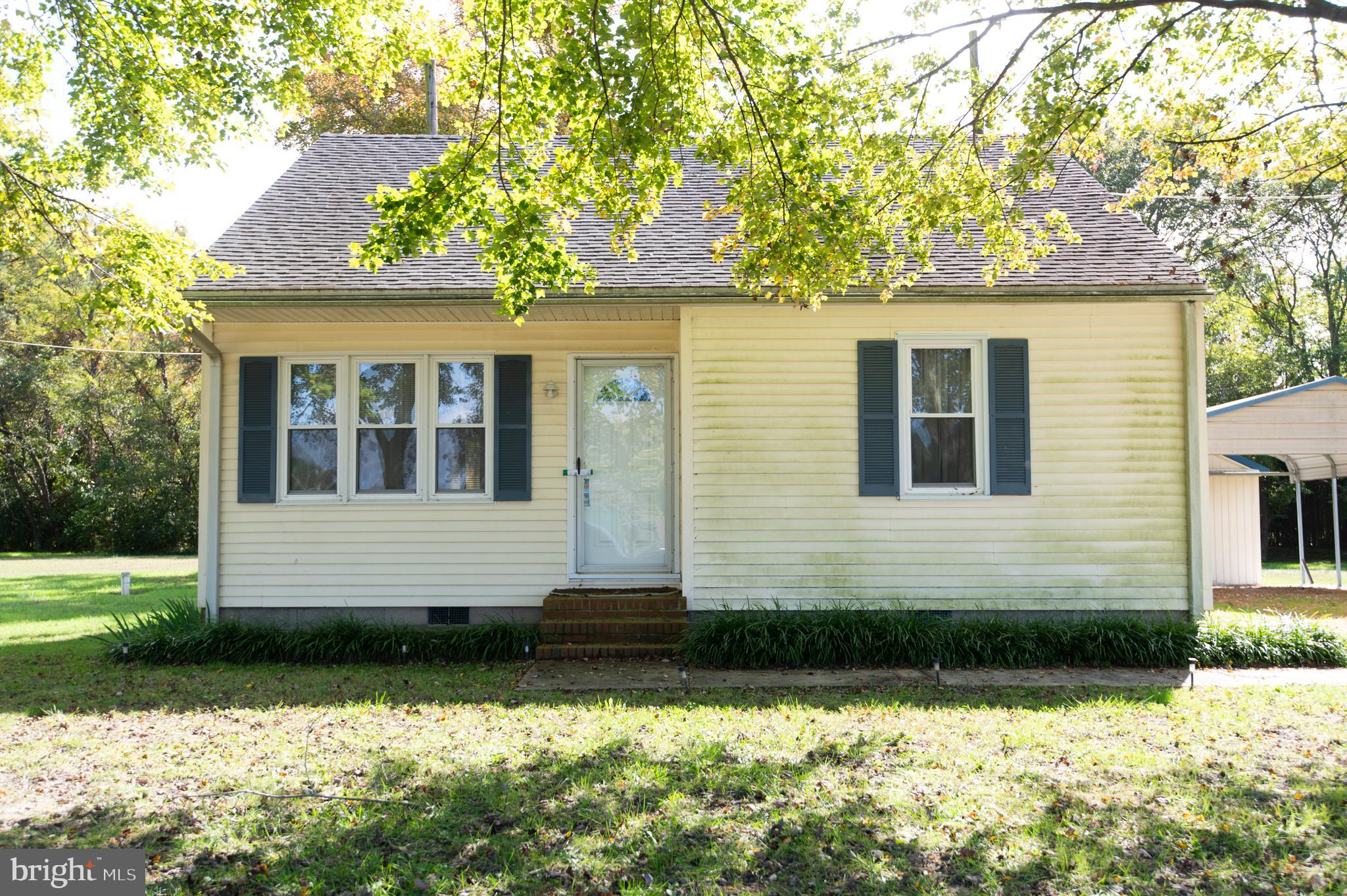 Warwick School District-  larger than it looks cottage!  Nice, country location- 3 BR with updated kitchen and updated bath. First floor bedroom and bath.  Carport and oversized garage/outbuilding.  You'll love the Sunnyside!