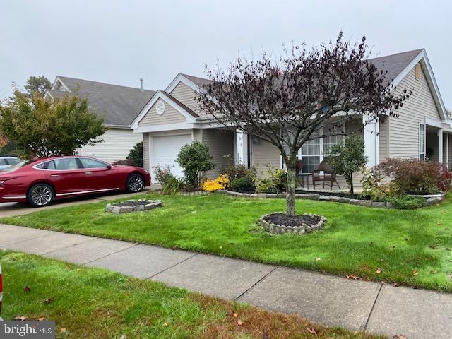Check out this lot size  50 X 149 one of the largest in Leisuretowne.  This Warwick - Gas Model boast's a variety of Large rooms.  Includes a Beautiful Front Patio  and Gas Heat.  Ready  to Move In