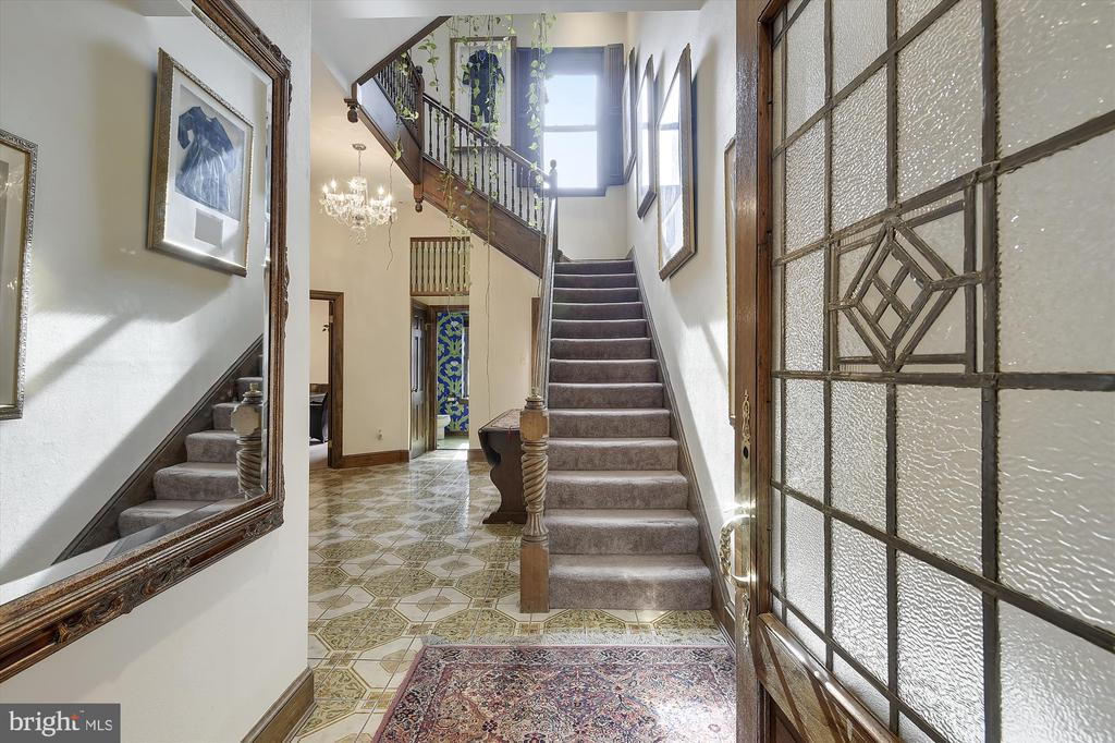 Dupont Circle. A walkers paradise! This exquisite Victorian style home has five levels of luxury living. In the center of historic Dupont Circle, this gorgeous home offers over 4,000 square feet of living space featuring a grand entrance with an open atrium from the first to the fourth floor, a gourmet kitchen, serving kitchen, four wood-burning fireplaces, four spacious bedrooms, two with en-suite baths, three full baths total, two half baths, top floor sunroom or home gym, rooftop deck with jacuzzi, new copper roof, one car attached heated garage with off-street parking, private outdoor patio and more. Call listing agent to show.  Sellers need to find a home of choice. Don t miss this rare opportunity! Listing