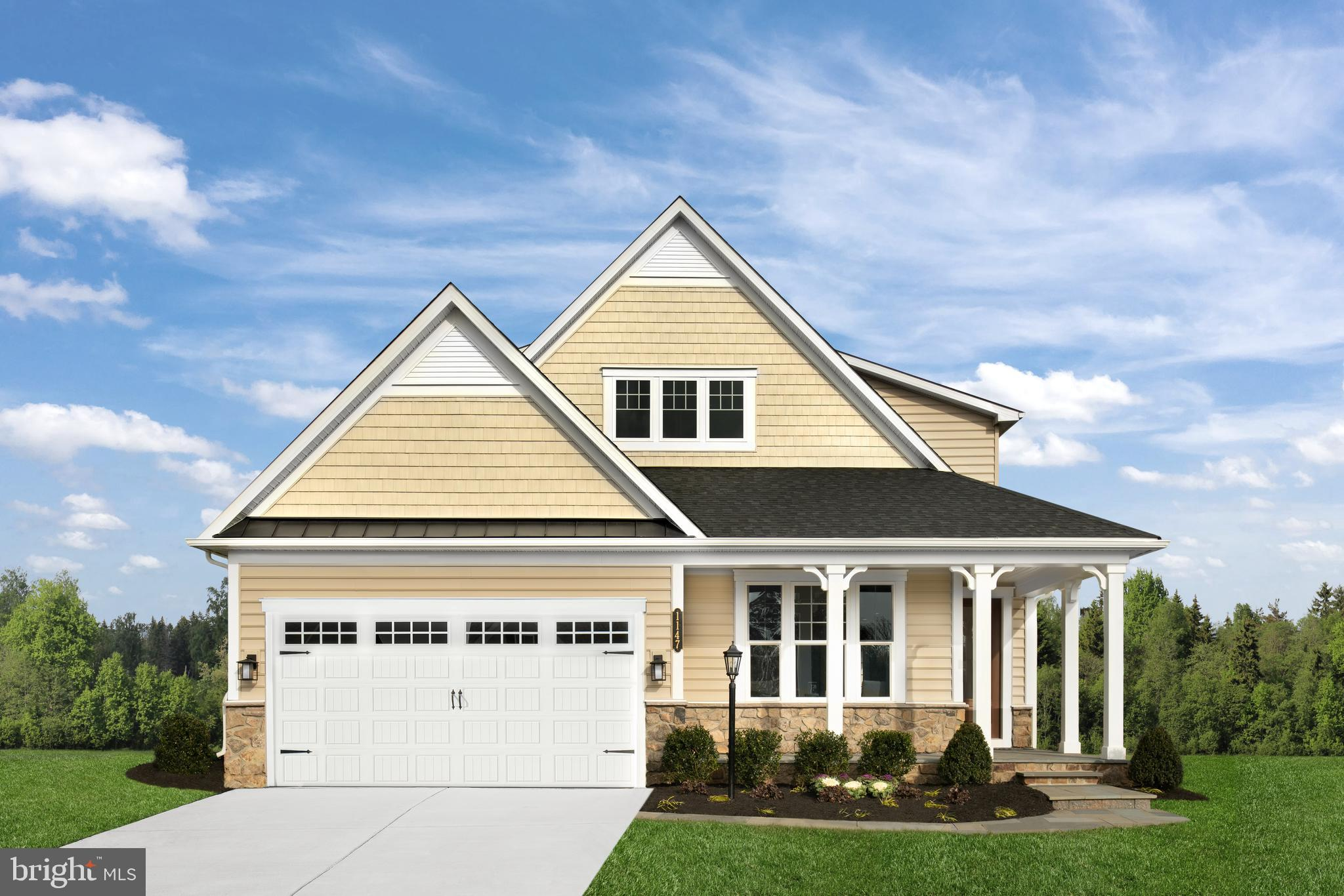 Welcome to the Clarkson at the Woodlands, West Chester's premier 55+ community of new single homes in a spectacular gated estate setting. The Clarkson offers 3-5 bedrooms balancing traditional living with an open, two level concept. Upon entering from your bluestone front porch, you will find a generously sized guest bedroom, which also can be used as a study. The gourmet kitchen features an 8' island which opens to a large dining area and great room with a 10' included tray ceiling. The main level primary suite offers 2 walk-in closets and spa-like bath. The second floor adds a private living space for family or friends who visit!  The loft, large bedroom and full bath offer privacy. You will be amazed by our included luxury features, like 5' hardwood floors, quartz countertops, cushion-close cabinetry, smart home features, arrival center, and so much more. Enjoy a lock and leave lifestyle featuring full lawn and snow care as well as amenities such as clubhouse with pool, sun and grilling decks, social and office spaces, gym & yoga rooms, tennis, bocce and pickleball courts to name a few! Located within The Greystone community are nearly 7 miles of walking trails and 163 acres of open space, a bucolic setting, yet just minutes from the excitement of first-class dining and shopping in the West Chester Borough.  In addition to the Clarkson, The Woodlands offers the Albright, the Bennington, and the Davenport floor plans. Buyers enjoy a choice of available homesites.  Photos are representative.
