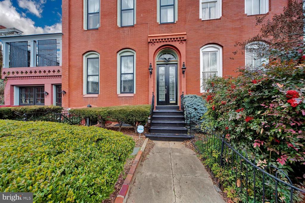 Welcome to THE JENKINS HILL HOUSE in the Shadow of the US Capitol --a prime location!! This 6BR/6.5BA home is just a few blocks to the U.S. Capitol, House & Senate office buildings, and The Supreme Court.  And if you go just a little further you will reach the metro or Union Station.  Nearby, is the unbeatable Historic Eastern Market, restaurants, shops and much more.   With grand proportions including high ceilings and period details, beautiful tray and tin ceilings,  brick walls and stunning multiple fireplaces,  this historic home is a rare find on the Hill!  It even has a swimming pool! The grand  living room and dining room are just perfect for entertaining with so much light and  timeless elegance.   The eat-in-kitchen is divided into two separate areas--one for cooking and washing dishes; and the other for casual dining and  gatherings.    Upstairs there are five bedrooms with five baths, some with fireplaces.    After going up the stairs to the first landing, the  bedroom which is  just to the left on this level  is currently used as a study for at home working.   Mature landscaping radiates curb appeal at the entry to this home.  Out back there is  a charming side garden leading to the rear courtyard which boasts a rare  in-ground swimming pool  which is presently covered. When re-opened, it is just delightful, especially on warm summer days.    In addition, there is  a roof  top deck for outdoor dining and entertaining over the garage.     There is a separate 1-car garage with driveway (rare find!), and a separate in-law or nanny suite.                                                          A coveted address on Historic Capitol Hill! To see video of Capitol Hill click on pink small square above main picture of home in listing.