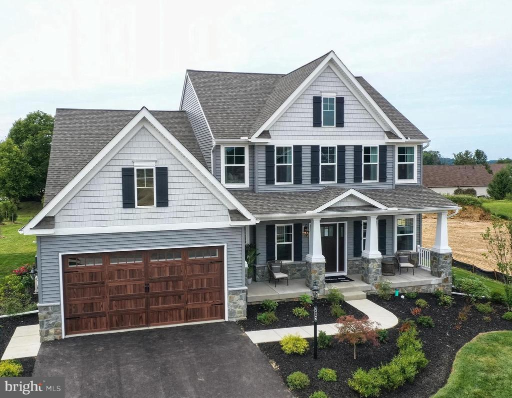 To be built with award winning Keystone Custom Homes!!! The Augusta Manor is one of many designs Keystone Custom Homes has to offer and features an open floorplan with FIRST FLOOR OWNER's SUITE!!! An eat-in Kitchen that includes an 8' long island and a large Breakfast Area are open to the Family Room. The Owner's Suite has a full bath and large walk-in closet. A Study and formal Dining Room are off the front Foyer. The Laundry Room leads to a 2-car Garage. On the second floor you will find MORE SPACE with a large Loft Area, full bath, and 3 bedrooms with walk-in closets! This plan has options to create two additional bedrooms on the second floor as well. Let's create the perfect home for you with a floor plan that offers a great bang for your buck! This is a home to be built. Photos are of a similar model home which shows additional cost options