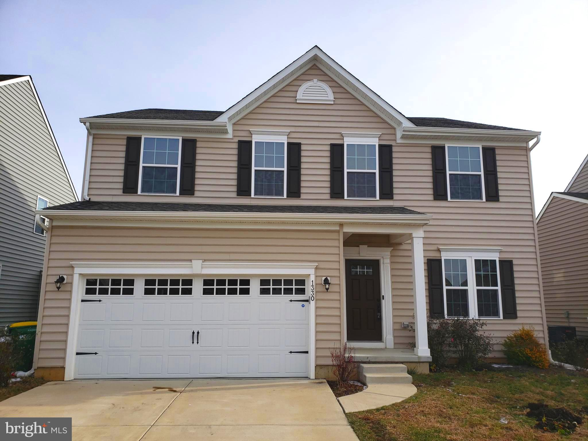 This well-maintained, one-previous-owner, 3 bedroom 2.5 bath home is located in the desirable High Hook Farms community -- central to modern amenities. Among the many features of this home are granite countertops, stainless steel appliances, upgraded kitchen flooring, and tiled showers. Additionally, this home boasts plenty of living space throughout the family room, sitting room, formal dining room, an oversized loft, and a partially finished basement. This home offers convenience and  with an upstairs laundry and a large maintenance-free composite deck.