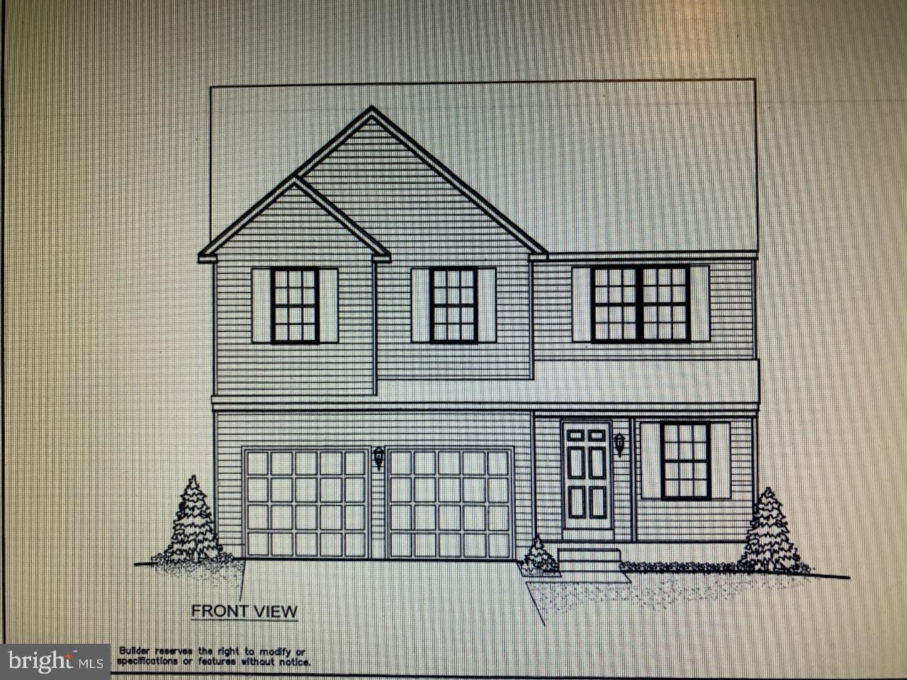 """READY Late April 2021! The home is now being framed and available to walk thru once the home in under roof with windows and door; so you can see the size of the rooms. This Stunning in North Wilmington is currently under construction! Modern 4 BD, 2.5 BA Colonial offers the lifestyle you have been yearning to enjoy with a level low maintenance corner lot in a spectacular location; Bike to Brandywine Park, Play Golf at Rock Manor or DuPont Country Club, or head to Rockwood Park for the Ice Cream festival and Summer Concerts. This is the home you will love. The Inviting front porch Welcomes you into a Formal Living room that has beautiful light filled seating area open to the stairwell which is finished in turned metal with basket spindles and wood handrails. The Hallway has entry from the 2 car garage, a coat closet, private powder room and a classic designed arch passageway to the Great room. Open eat-in kitchen plan is slated to have bright white 42"""" wall cabinets with crown molding, subway tile, in wall oven & microwave, a prominent Euro style recirculating range hood over the Stainless Steel Gas counter cook top, dishwasher, Granite counter tops and a bright sunny window overlooking the deep under mount sink. The entire 1st floor has 9' ceilings, to be finished in a hardscape flooring and raised baseboard trim package, Crown molded walls with chair rail & decorative molding accents that offer a wainscot effect plus a beautiful Boxed Bay window in the kitchen eating area. You choose how to live in this free form layout; a Formal Dining area or an even larger expanded Great room. The Great room has a Gas fireplace with lovely mantel and remote. Owner's suite is the homes retreat having 2 over-sized walk-in closets, spacious private bathroom with tile floor, tile surround soaking tub & separate seated shower, double sink vanity w granite counters, a peninsula fireplace and a relaxing seating area. The suite is the entire width of the home. There are 3 other spacious"""