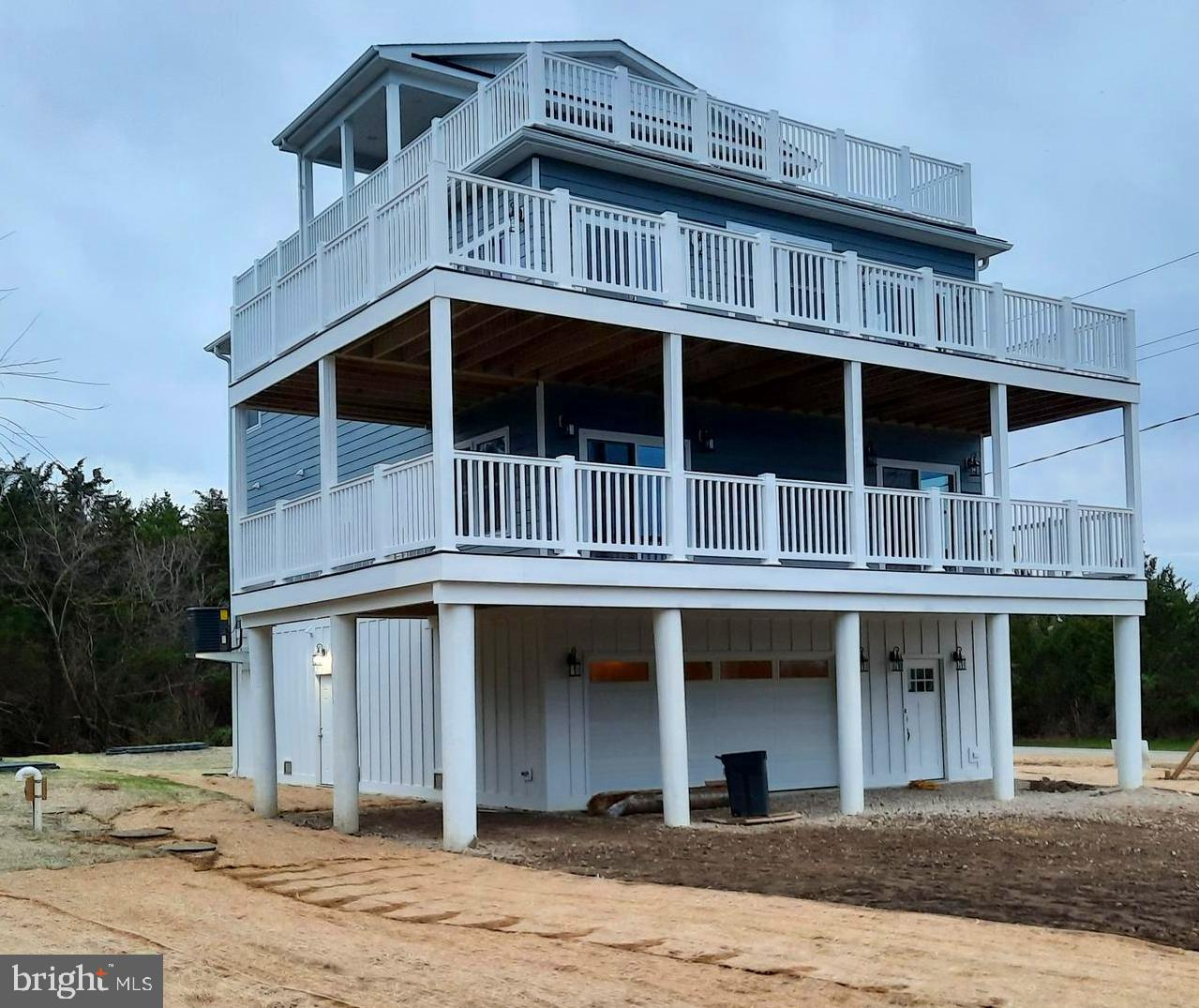 New Construction Custom Beach Home completion ***3/01/2021 being built in Slaughter Beach Delaware starting at $749,900. There are amazing views of the National Wildlife Refuge and the Delaware Bay that will take your breath away.  This 4 bedroom Custom Home with 3.5 baths, Roof Top Observatory, Outside Shower and 2,000 sq.ft of Decks. This gives a 360-degree view of the area.  Top-level has a large living room, roomy dining room all with 9ft ceilings, crown molding, and buyers' choice of flooring. The Kitchen is large with high-end appliances, slow close cabinets, and plenty of space on the island. Next to the kitchen walks out to a large wrap around deck.  Beautiful master suite w/ gorgeously done bath w/ soaking tub, separate shower, and double vanities. The remaining 3 spacious bedrooms and 2 baths are on one floor below.  One of the three bedrooms is a large 2nd Master Bedroom with Master Bath & Walk-In Closet.  Also, the Laundry Room is contained on this floor & a large wrap-around deck.  This beach house has a specious elevator that reaches all floors.  Security System & Smart Home Capabilities throughout.  Private & Public Boat Launch Steps Away.  Still, time to make changes and pick finishes in this 3,000 sq. ft Custom Beach Home with amazing views!