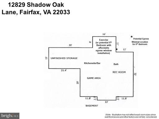 12829 Shadow Oak Ln Fairfax VA 22033