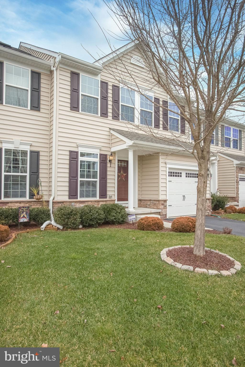 "Visit this home virtually: http://www.vht.com/434129161/IDXS - Absolutely gorgeous 3BR, 2.1BA townhouse with over 2600 sq ft awaits you in Canal View! As you enter you will love the extended hardwood floor in the foyer, living room, dining room, and the gourmet kitchen. The stunning kitchen includes upgraded 42"" cabinets, granite counters, tile backsplash, stainless steel appliances, and pendant lighting over the ""One-of-a-Kind"" Black Walnut extended breakfast bar. The bright and welcoming family room is perfect for relaxing or entertaining. Upstairs offers a generous master en suite, as well 2 additional nice size bedrooms, full bathroom and laundry room. Finished basement is perfect for your game room, movie viewing, etc and there is a rough in for another bathroom. Backing up to the C&D Canal, this home is in the ideal location with amazing views all year round from your trex deck. You can retire your lawnmower & snow shovel - it's included in the HOA! This beautiful home will not last - Only available due to transfer! Please follow all COVID-19 precautions. Masks must be worn. Please sanitize. Please keep showings to 30 minutes and limit conversations while in the property. Leave all lights as you find them. If you or your client is feeling ill, please do not tour the home. Please ensure your buyers are preapproved. Thank you for keeping our clients safe!"