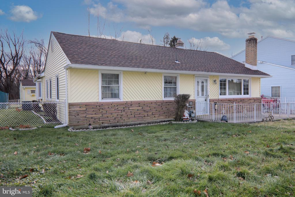 A Bensalem Rancher that has it all! Nothing left to do except unpack and relax. Tons of upgrades including newer Roof, Siding, Windows, Furnace, Central Air & Kitchen cabinets w Granite counters. There is a formal Dining Room as well as a separate Breakfast Nook. As you enter the home you are greeted by a comfy Living Room and there is another Family Room both with wood burning fireplaces. There is a nice sized full bath complete with a convenient Laundry area. The 2 Bedrooms are generously sized as well. Off of the family room there is a Work Room  / Mud Room / Man Cave that leads to the spacious back yard with plenty of room for the kids and pets to play. The back yard has a covered concrete Patio Perfect for those summer BBQ's and a shed also with newer siding and roof. Make your Appt today. This one is not going to be available for long.