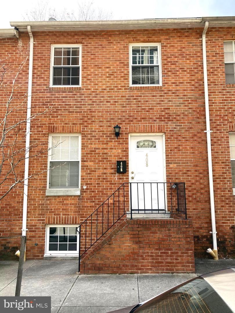 408 Washington Street   - Baltimore City, Maryland 21231