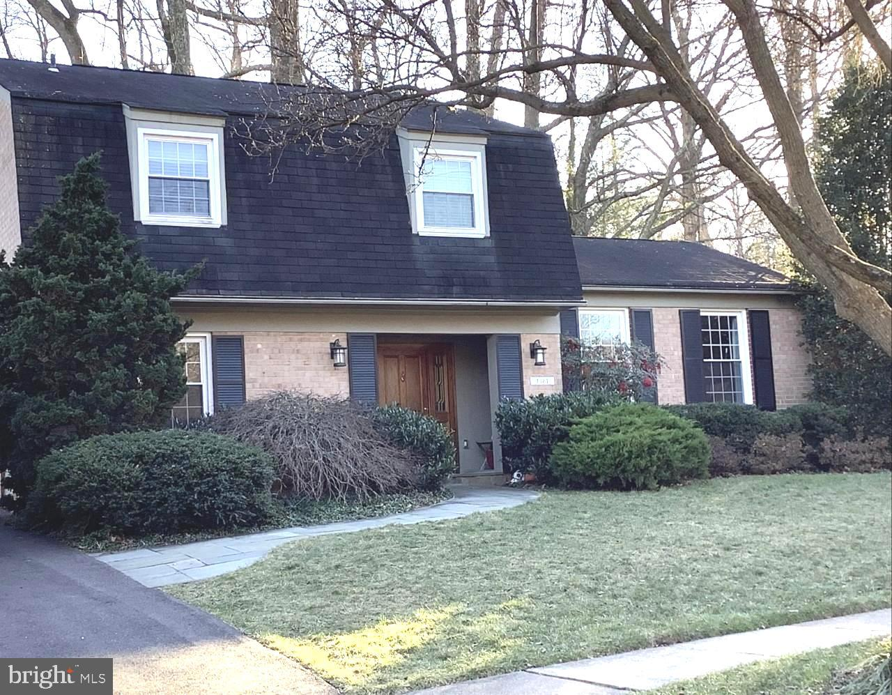 1481 Dunster Lane   - Potomac, Maryland 20854