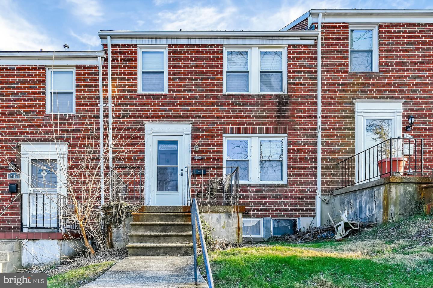 1445 Forest Park Avenue   - Baltimore, Maryland 21207