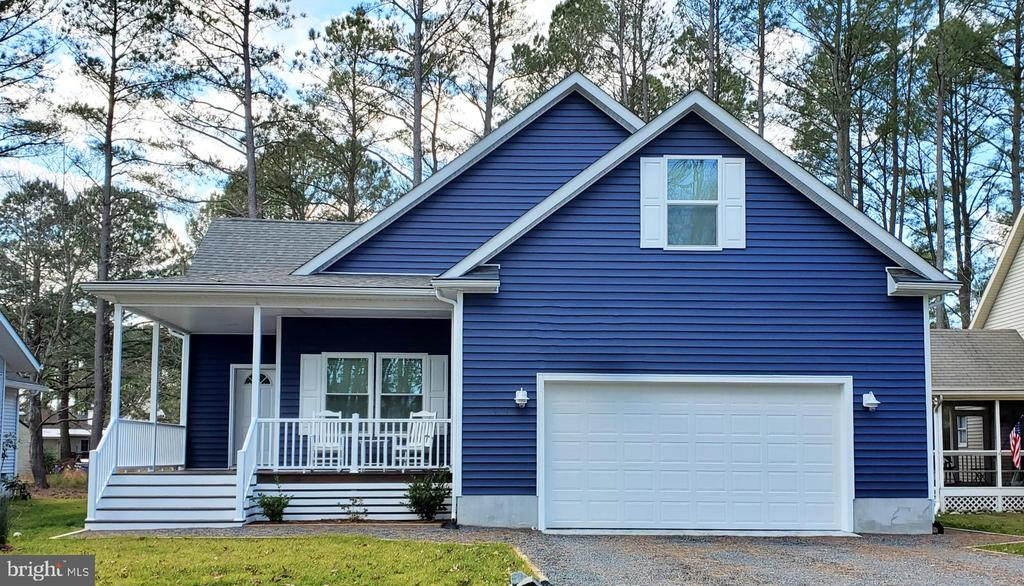 New Construction Energy efficient 4-bedroom 3 full bath home on an oversized lot located in the popular resort community of Ocean Pines. Scheduled to start construction in early February with a completion date of late May.  Home features poured Solid Concrete Foundation, 9 Foot Ceilings, High Efficiency HVAC System, architectural shingles. Spacious 1st floor master bedroom with custom 7-foot Tile Shower. Additional features are a large kitchen with granite counters, stainless steel appliances, 42 inch sold wood cabinets, Pergo waterproof flooring, tiled bathrooms, covered front entrance porch, 2 car attached storage, deck, double hung energy efficient windows and doors, washer/dryer and bonus area. Conveniently located within minutes of Ocean City, shopping, restaurants, and medical facilities.   Voted the safest place to live in Maryland the community offers an abundance of amenities such as multiple pools, a private beach club, Golf Course, multiple marinas to name a few.  Please call listing agent for more details.