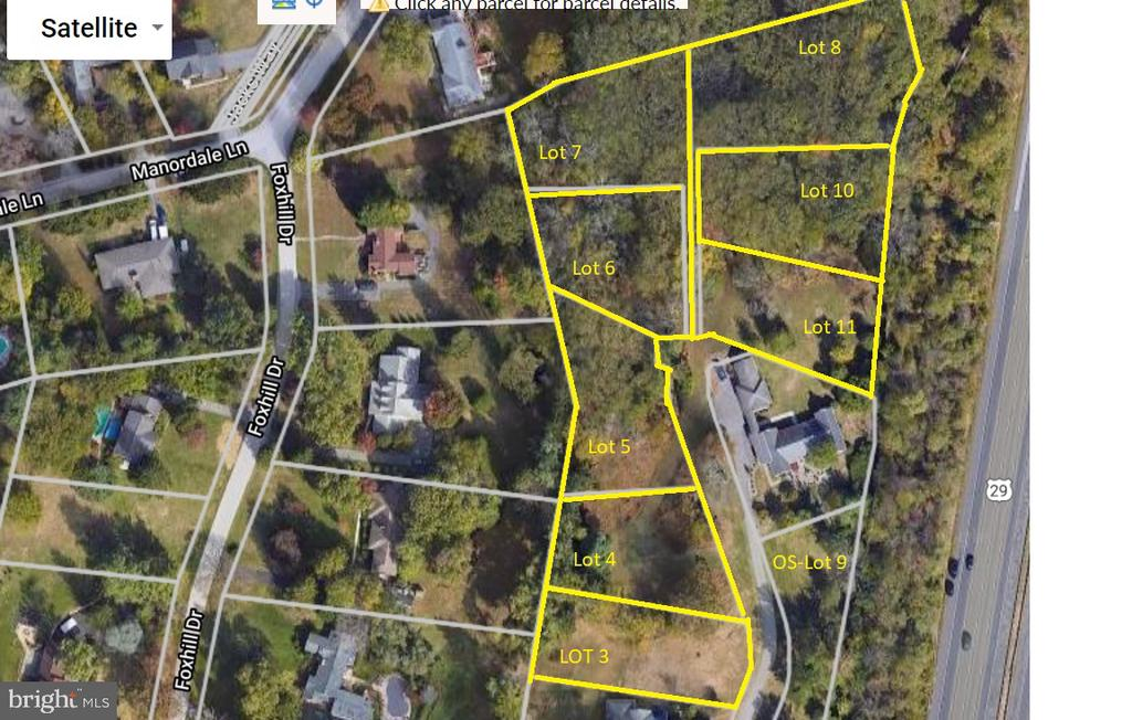 Seller is in the process of revising the drawings and SDP to the new SWM Regs.  There are 8 Recorded lots with water/sewer in Ellicott City! These lots are being sold together- Building Allocations are in place for these lots.  Loosing Out on Resales- call your family and friends and create you own oasis.  The Lots are being sold as a bundle not individually. The Buyer will need to complete the infrastructure in order to obtain a building permit.   No builder tie in at the moment. Call the office for an appointment- do not walk onto the property without approval. Plans and Plats available