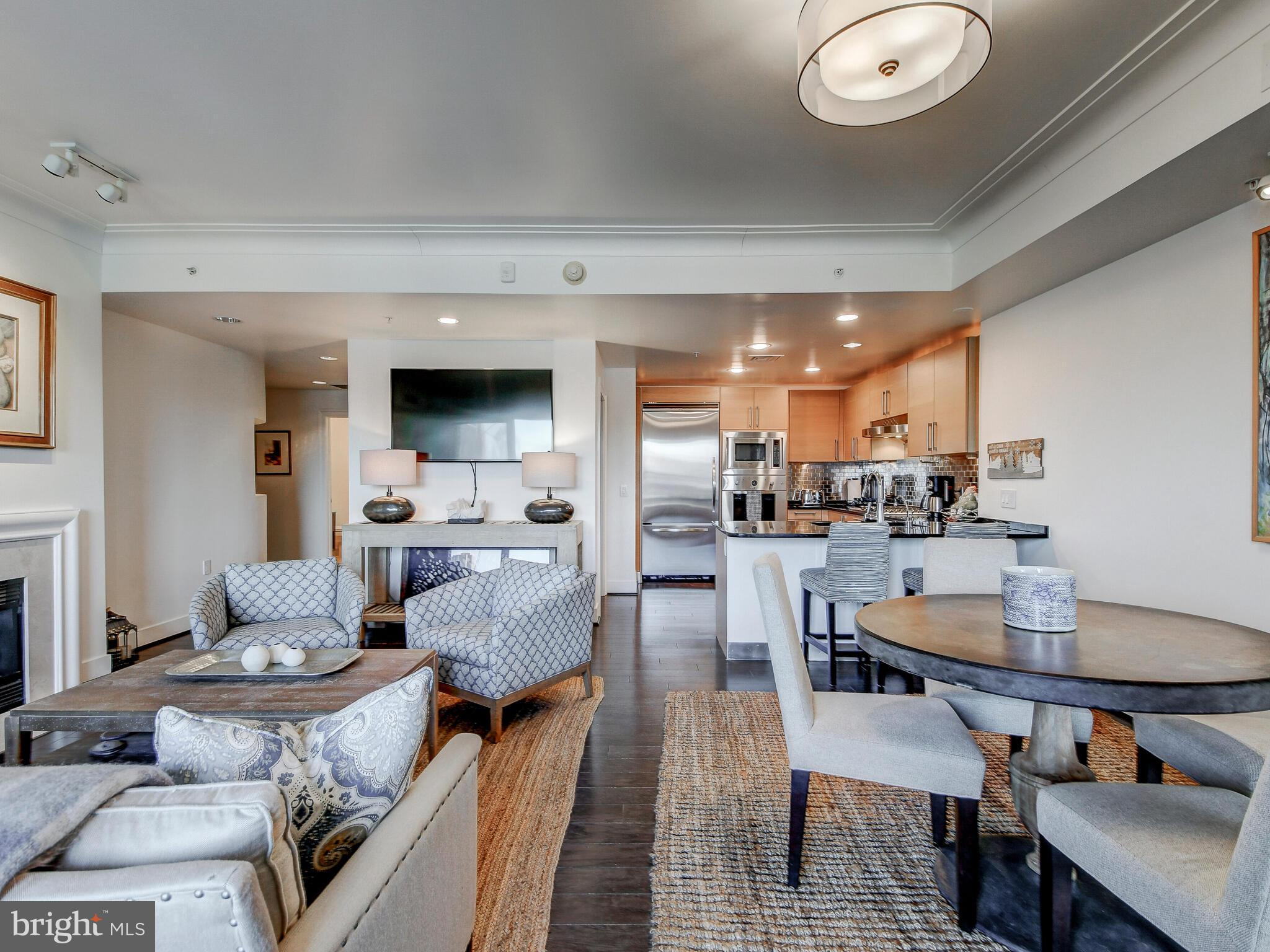 Fantastic opportunity to own a luxury Ritz-Carlton Inner Harbor 2 bedroom 2.5 bath condo with marina views.  Wide open light filled floor plan with high end appointments including Viking appliances, hardwood flooring and marble tile throughout, oversized contemporary moldings, and an extra large terrace. This condo shows like a model and has been impeccably maintained. Two car parking and additional storage convey.  Live the life of your dreams - pamper yourself with the most service oriented residence in the Baltimore metro area.  24/7 Ritz-Carlton trained concierge, uniformed doorman, complementary valet parking for you  and your guests, porters to deliver packages, on-site maintenance staff, security, and two acres of manicured waterfront gardens. The Ritz-Carlton Residences also includes a resident only 30 seat theater, game and billiards room, resident lounge and boardroom at no additional expense.  Six guest suites are available to resident guests at a nominal nightly fee.  There is nothing like this in Baltimore.  Come see what a Ritz-Carlton lifestyle can be.