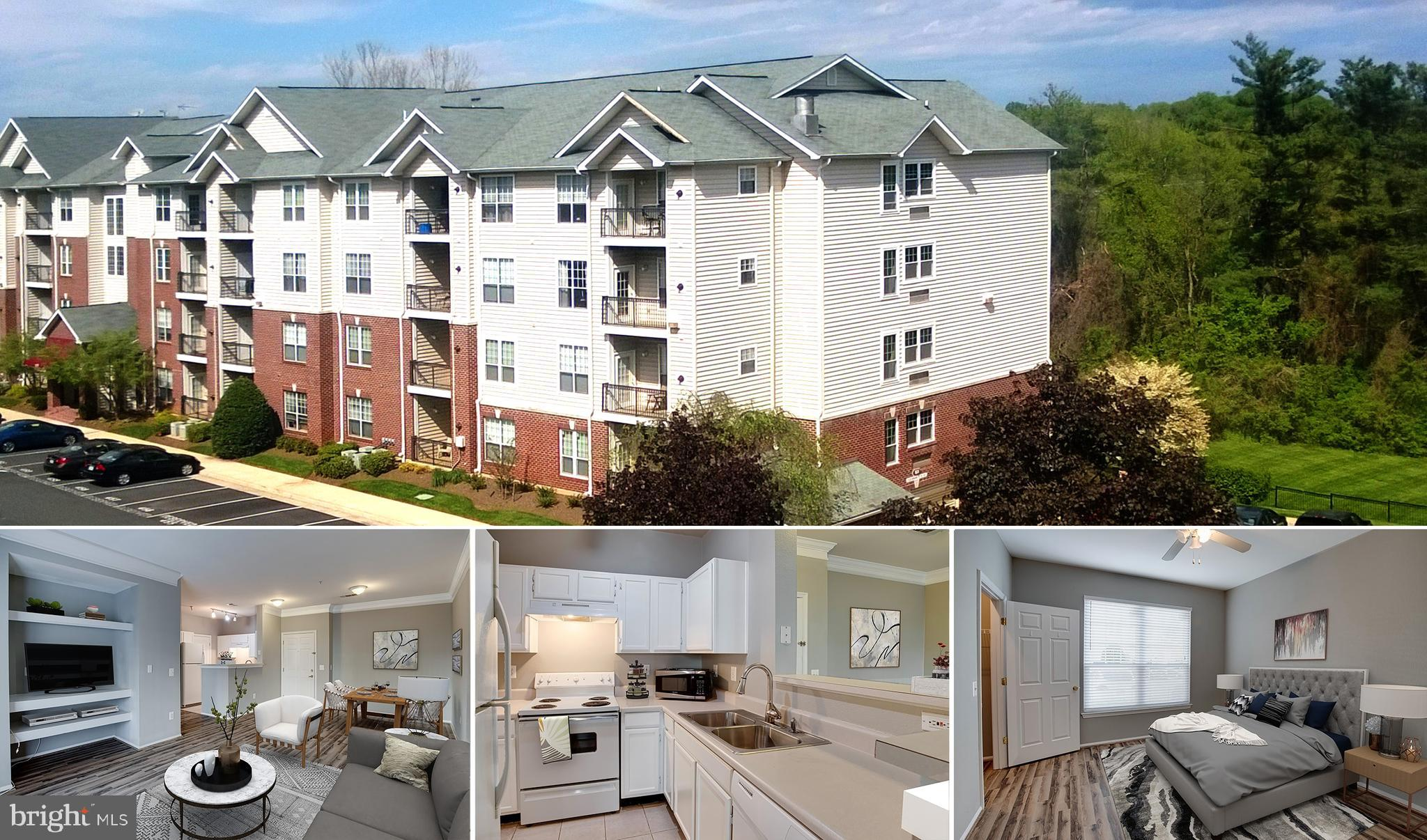 Large and wonderful 1 bedroom condo - walk to McLean Silver Line metro + Wegmans across the street. The unit has laminate floors and newer windows and is in a controlled access building. Larger 735 sq/ft Danielle model. 1 reserved parking spot + 2 guest tags. The Gates of McLean is a gated community with great amenities like an outdoor swimming pool, gym, clubhouse, sports court, grill area and walking paths. Minutes to everything in Tysons and minutes from toll road. (virtually staged images.)