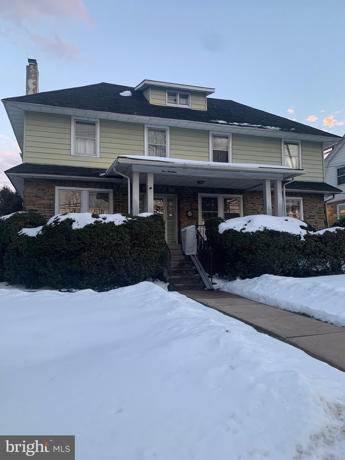 Fabulous opportunity!  This sale includes three properties located at 515 S. Woodbine Ave. Penn Valley, 519 S. Woodbine Ave. Penn Valley and a parcel (possible building lot) on Willow Way, Penn Valley. 515 S. Woodbine Ave. is a 2 story single home -living room with. fireplace and entrance to an enclosed porch, dining room, kitchen and storage room. 2nd floor has 3 bedrooms and a hall bathroom.  Stairs up to an unfinished 3rd floor.  Covered large front porch is a nice place to relax. 2 car detached garage in rear of property .  519 S. Woodbine Ave. is a spacious 3 story single colonial with a covered entry that opens into the foyer-to the left is the large living room with a warm gas fireplace, to the right is a nice size sunny dining room.  The kitchen is updated with stainless steel appliances including a gas stove and a SubZero refrigerator. There is a powder room just off the kitchen.  2nd Floor has the Primary bedroom, 3 additional bedrooms and a ceramic tile hall bathroom.  3rd Floor has two spacious bedrooms and a full bathroom. There is a recreation room in the partially finished basement. A one car detached garage is in the rear yard. The parcel on Willow Way currently has a built-in pool and pool house that is not  functional and no longer in use. Please see listing agent for the individual lot sizes and taxes on each of the 3 properties.
