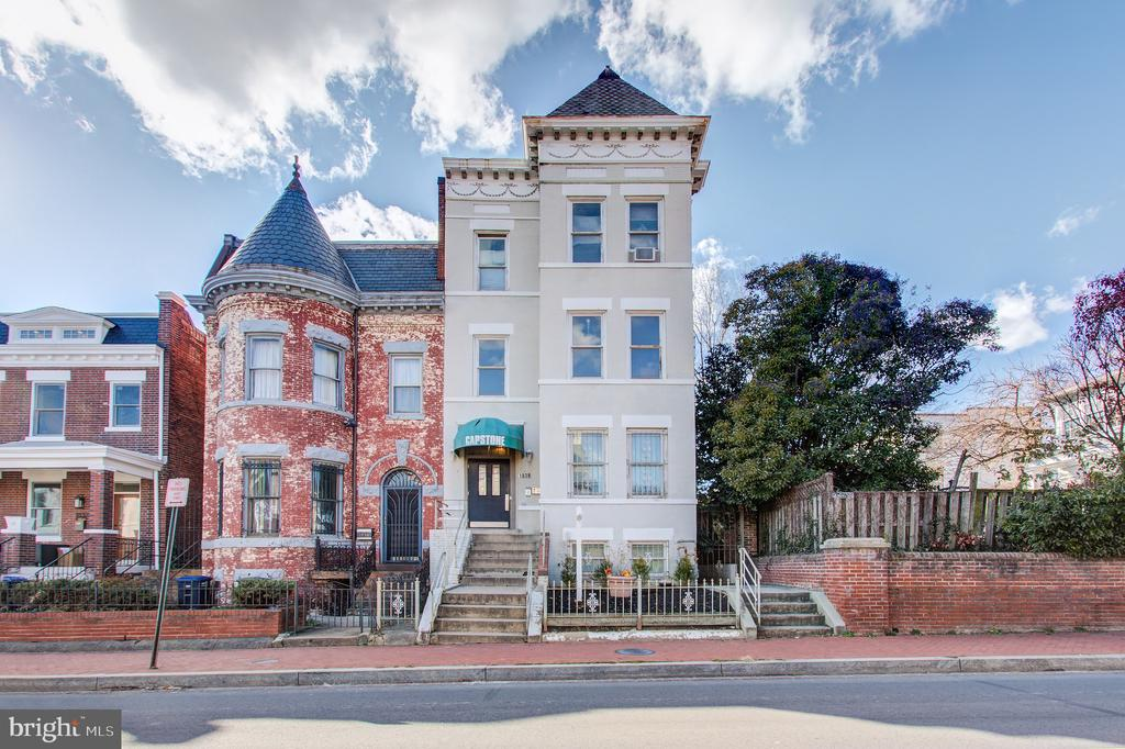 A True Two Bedroom Condo in LeDroit Park Historic District for under $400K! * High Ceilings Throughout, Oversized Windows, Fully Renovated Kitchen with Stone Counters & Breakfast Bar, Stainless Appliances, Recessed Lighting * New Spa-Style Bathroom * New Flooring Throughout *  Convenient First Floor Location is Elevated Above Street Level * One Dog or Cat under 10lbs Allowed * Community Laundry Room in Basement * Two Blocks to U Street Corridor's Ample Dining, Entertainment and Nightlife Options * Four Blocks to Shaw / Howard University Metro Station * The LeDroit Market, a Friendly Neighborhood Grocery, is Located a Half Block Away