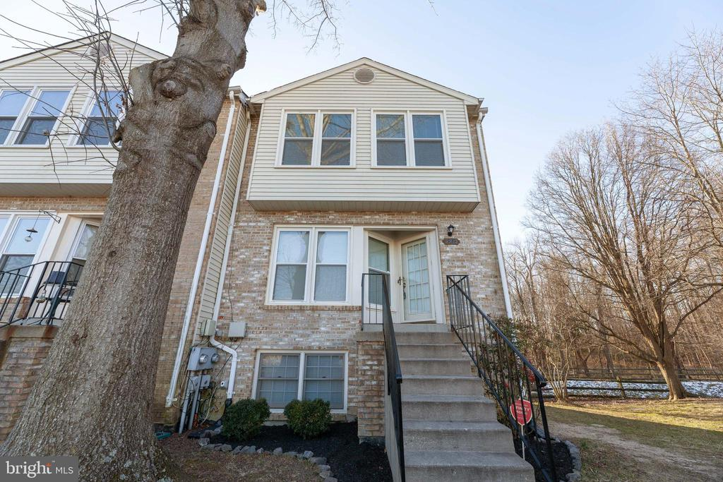 Welcome Home to this gorgeous end unit town home in Waldorf, MD conveniently located just minutes from shopping, restaurants, schools and more!  This spotless upgraded home features three bedrooms, two and one half bathrooms, and stunning upgrades throughout.  Plenty of room for future expansion in the unfinished basement with full bathroom rough-in.  Freshly painted throughout with new flooring are sure to impress!   Enjoy relaxing and/or entertaining on the huge back deck and patio.  Hurry this amazing opportunity will not last long.  As Is Sale.