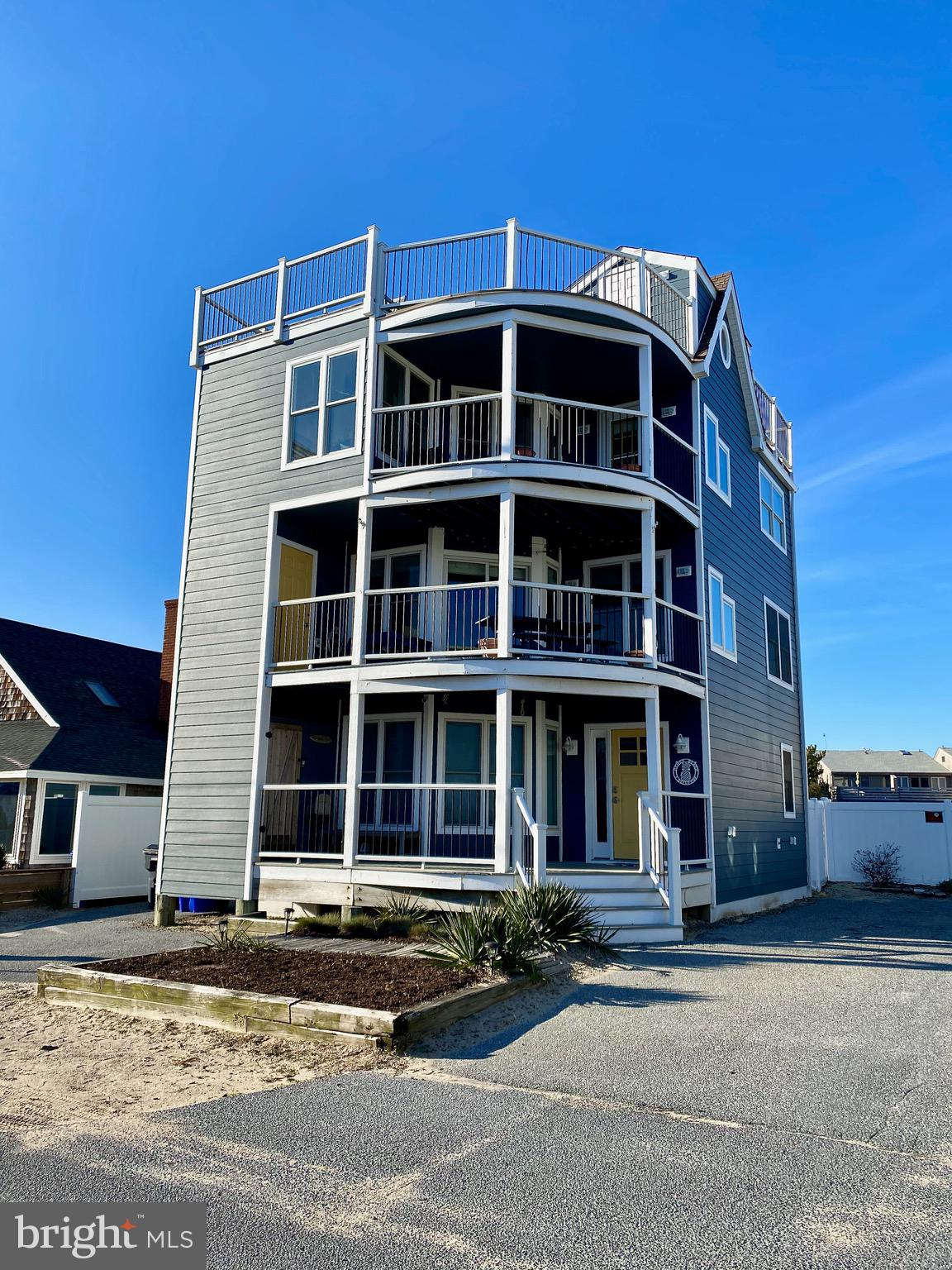 """One of the best locations in Dewey Beach! Enjoy views of the Atlantic Ocean from all four floors of this incredible property. Offering multiple decks and beach access within footsteps, this is the perfect beach home! 3 Bellevue Street is low maintenance, offers parking for seven vehicles, and is only a short walk from award winning dining and entertainment. If you want to enjoy the Dewey Beach """"A Way Of Life"""" this summer do not miss this opportunity! * New Hardiplank siding and windows in 2020 *"""