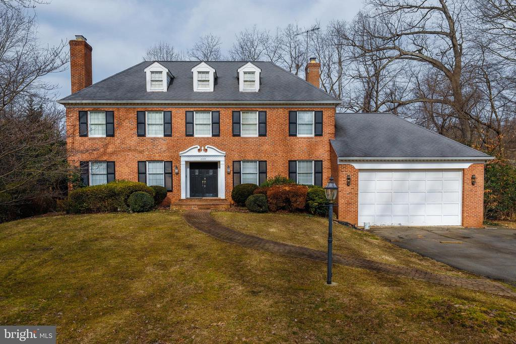 Excellent location, easy access to Rt495/267/193/66, 2.3 miles to Langley High School,  1.4 miles to McLean Community Center, 3 miles to Tyson's Galleria. Great school pyramids  -Langley HS, Cooper MS, Churchill Road ES. NO HOA.  SOLD AS-IS/Newer HVAC, Roof about  2000-(30 yrs lifetime), 6-in Gutters about 2010, Double glass window.   Over 4,000 square feet/above level (the basement/ about  2,000sqft ) house sits on a 0.46-acre lot that features: 5 bedrooms and 4.5 bathrooms, 3 fireplaces, sunroom, dining room, library, game room/recreation room, and an oversized two-car garage with storage, a deck, cul-de-sack, and back forest view. pool table conveys