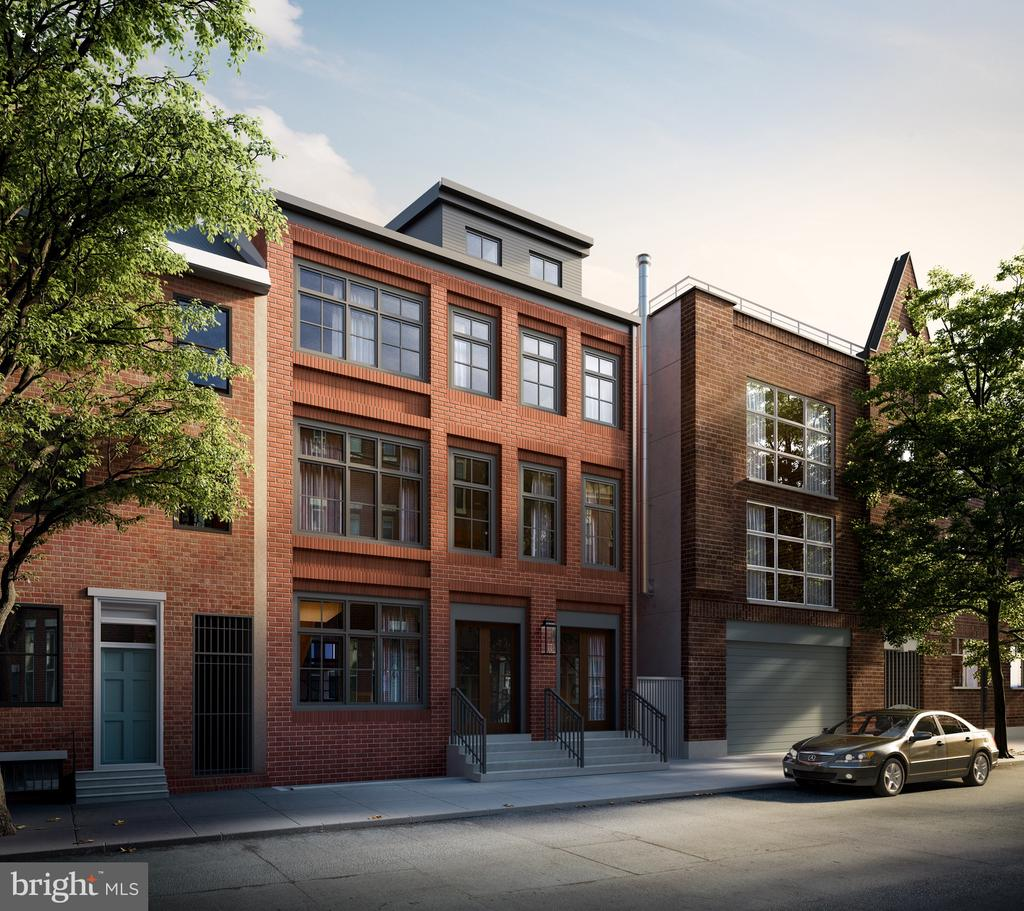 Finally a Luxury building at a Prime Queen Village location. Introducing LIV Condominiums. 9 Sprawling residences, each crafted for a pure living experience. carefully tailored with exquisite details, each space utilizing the finest materials and workmanship. LIV is nestled on one of the best blocks in the City within the Meredith school catchment in highly desirable Queen Village. Some amazing features at LIV include, PARKING, 10-year tax abatement, Elevator building, Smart home technology integrated throughout. Also exterior decks and patios, Custom built in Bertazzoni appliances, Calcatta counter tops with waterfall sides, Brazilian oak hardwood flooring, Custom Baden haus bath cabinetry, Toto and Hansgrohe bath fixtures, heavy duty European style Vetrina aluminum tilt & turn windows and much much more. Two, Three and Four bedroom residences available. LIV also offers a wide range of unique floor-plans and pricing. Private elevator access into some select residences. Built by one of Philadelphia's leading developers LIV will be a Landmark building. Located at 2nd and Monroe Street in Queen village one of the most storied Philadelphia neighborhoods, where the architecture is reflective of the colonial era, while its vibrant dining, boutiques, and shops are the best of the modern world. Live in the center of it all!! Parking is an additional $65,000 per spot. 1st come 1st served. New Construction. Square footage total includes above grade space and below grade space and is estimated. Taxes and square footage to be verified by the buyer.