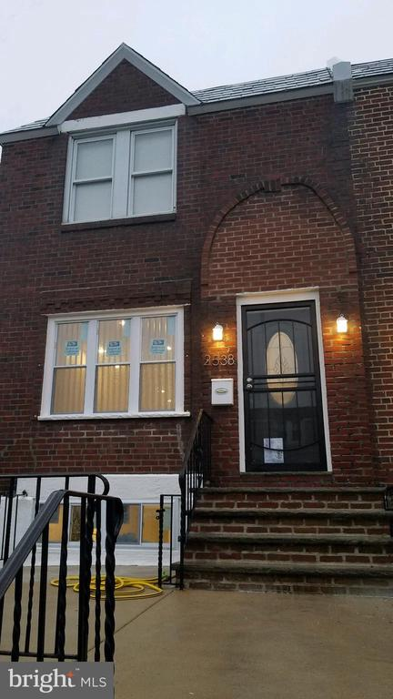 This corner property in the Penrose Section has been  tastefully renovated. It features beautiful hardwood floors throughout. It also features a beautiful modern kitchen with stainless steel appliances. There's a walkout deck from the kitchen for your relaxation and pleasure. Also it features 3 sizable bedrooms, and one and half bathrooms and plenty of closet spaces. The living room ceiling has audio speaker system installed. It also has a finished basement with laundry hookup.  Bring your buyer, this is a must see.