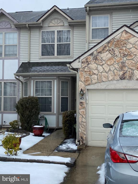 "In the desirable Wyngate Community of Burlington Township encompasses a beautiful, comfortable 3 bedroom with a partially finished basement townhome. This well maintained townhome pulls you directly into the living room, half bathroom and laundry room located on the side. As you continue strolling through the first floor there is a tv room suitable for relaxation. The kitchen has an open view which enables anyone to engage in conversations outside of the kitchen. There is a sitting area off to the right side of the kitchen for anyone to enjoy coffee or ""alone"" time. The steps introduce you to an open hallway which leads to 3 beautiful size bedrooms. The master suite has double doors that launch you into a sitting area, great closet space, powder area and a full bathroom. In the nice size partially finished basement, there is room for entertainment, sleeping accommodations and storage. Don't wait as this will not last long !!"