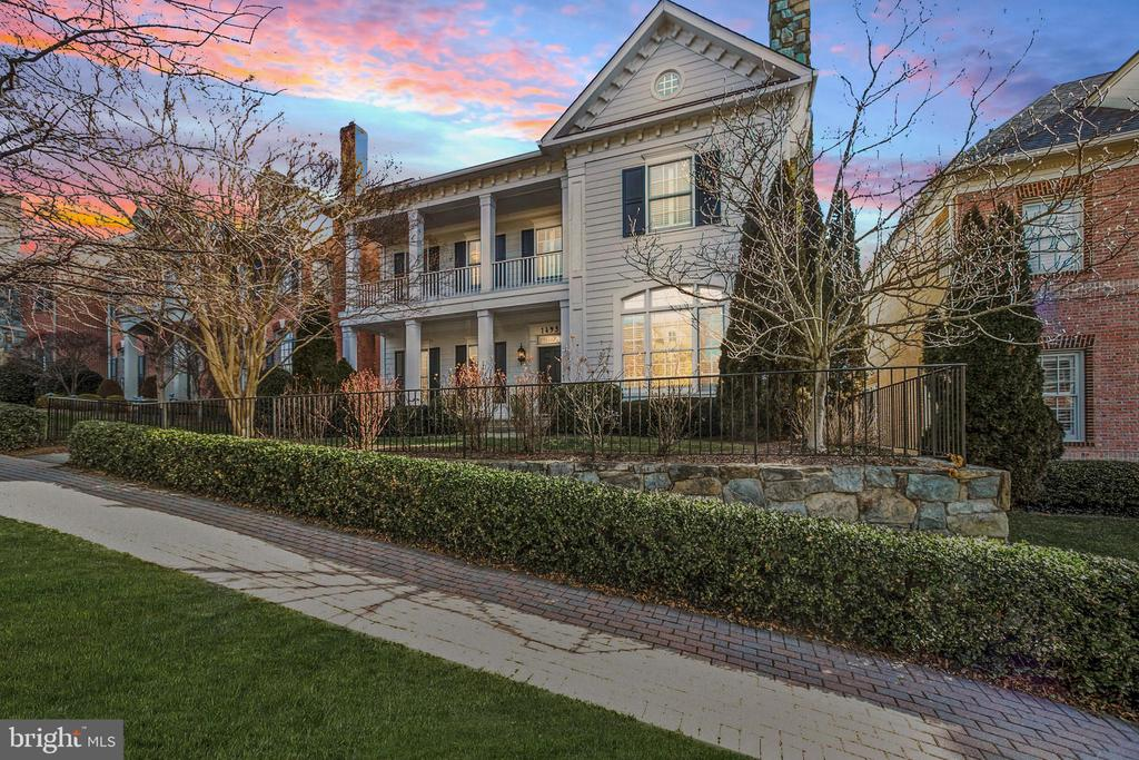 Open Sunday 1-3pm! Imagine coming home to a stunning luxury home tucked away in a picturesque gated community, perfectly secluded near the very best of McLean and Tysons. Welcome to this five bedroom 5.5 bathroom Evans Farm home designed for the savvy McLean buyer looking for ample space, exclusive community living, and prime access to the city and countryside.   From top of the line finishes to sun-drenched open spaces, you will not mistake this 2002 built home for another. The property boasts 7,500+ expanded square feet of living across 4 perfectly finished levels, a rare 3 car oversized garage, and a gorgeous private patio!   Features to include stainless appliances, custom millwork, flagstone outdoor spaces, an extensive master-suite, 4 fireplaces, a theater room with an adjacent gym, a generous walk out lower level with wine room, and so much more! Evans Farm offers 143 exclusive residences with a sense of community, picturesque amenities, exclusive privacy, and a luxury lifestyle that cannot be matched anywhere inside the beltway! Easy living within a quick walk to downtown McLean or an easy drive to Tysons and Washington.   If exclusive privacy, unembellished luxury, and a timeless location are on your list, welcome home!