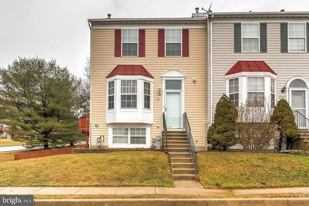 Welcome Home.  Well Maintained End of Group Townhome with Expansive Rear Deck and Fenced Yard.  New Carpet.  Light & Bright Front Kitchen with Ceramic Tile Flooring, Desirable Gas Stove, Stainless Appliances and Bay Window.    Open Living/Dining Combo with French Doors to Deck with Gazebo & Cover Perfect for Seasonal Enjoyment.  Primary Bedroom with Vaulted Ceiling and Ensuite Bath.  Elevation offers Nice Views of the Chesapeake Bay.  Finished lower level Features Additional Living space,  or an Additional Bedroom,  plus 3rd Full Bath.  Laundry area with Utility Tub and Terrific Workshop Space. Walkout to Patio, Spacious Fenced Backyard and Shed.   New Water Heater February 2021 & New Architectural Shingle Roof in 2016.  Great Havre De Grace location, close to town. Conveniently located to 1-95, APG, Shopping and Dining.   Don't wait schedule your appointment today.
