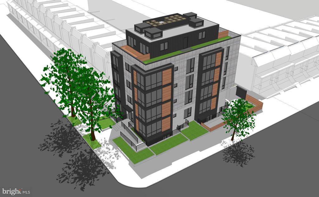 Exceptional Development Opportunity! 17-Unit condo project located at the corner of 14th and Shepherd. Price includes plans and permits. 3 parking spaces, incredible penthouses. See documents for draft plans.