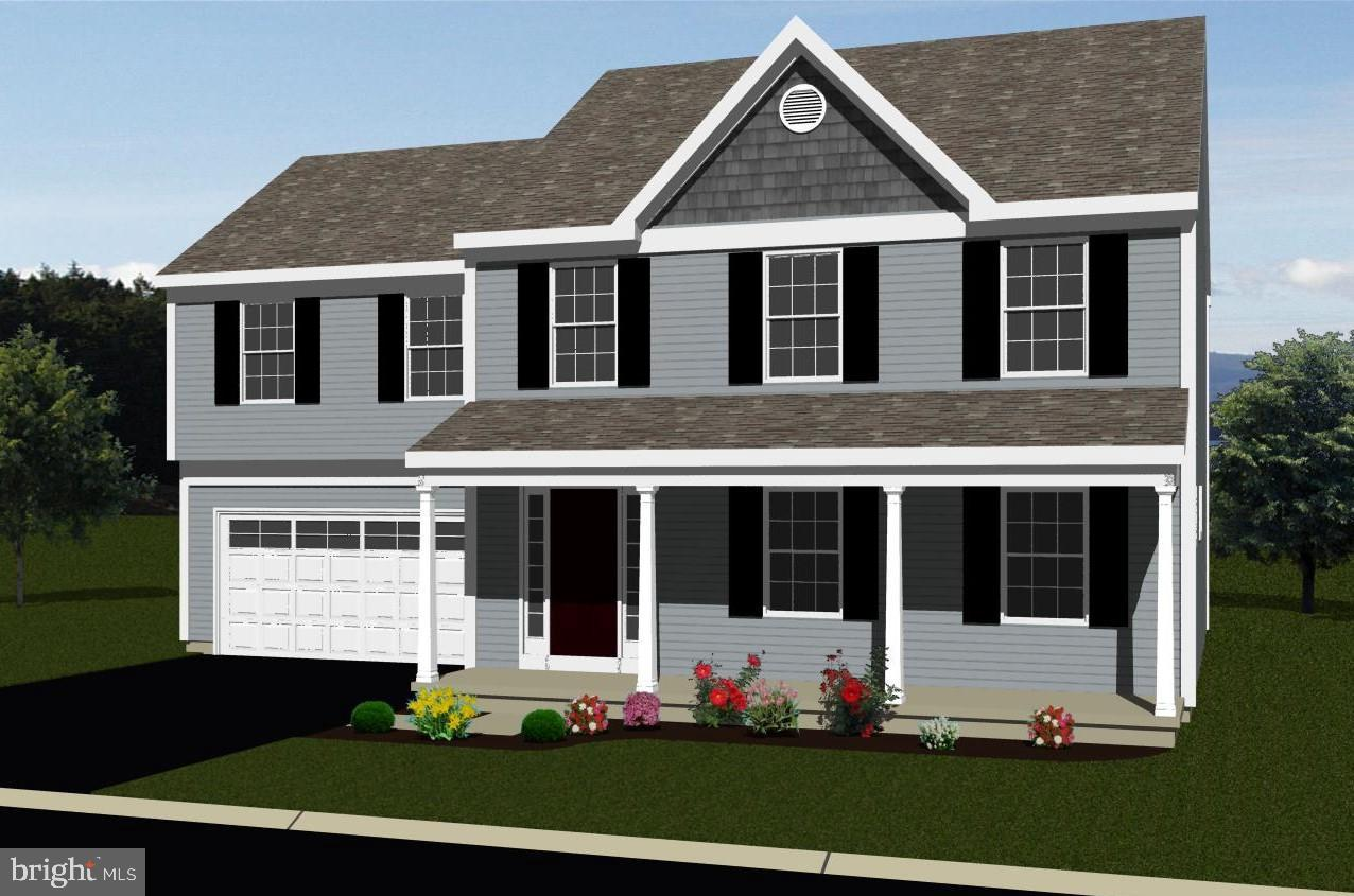 Asbury Model -4 BR 2.5 Bath home in Stonegate Commons, open kitchen with island, 2 car garage.