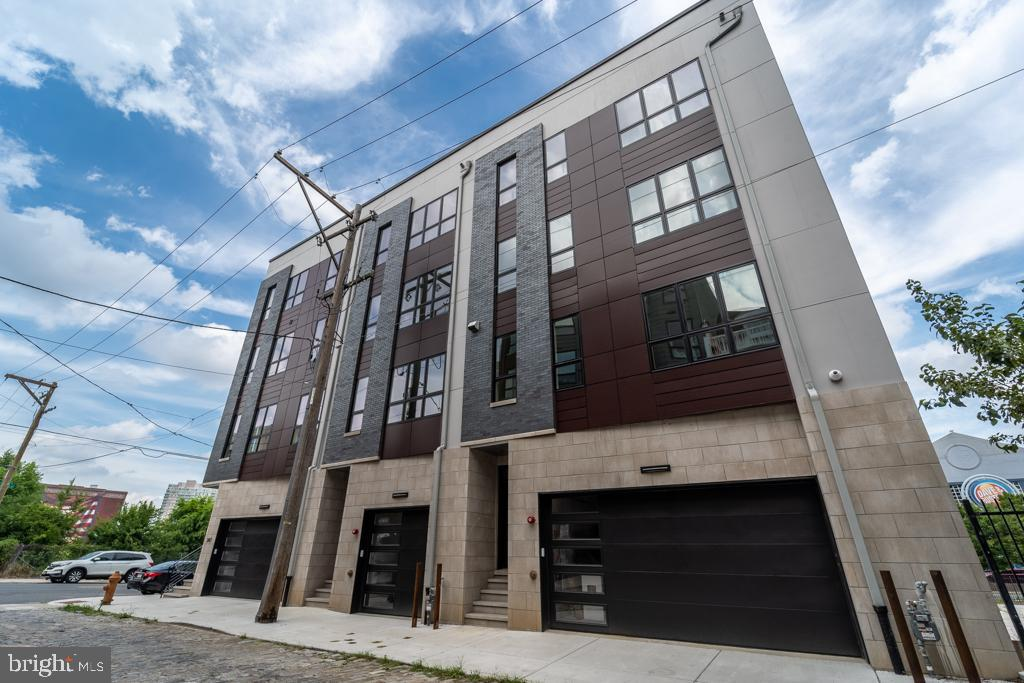 Exclusive Brand New Construction with views of the Ben Franklin Bridge, Delaware River and more! Prepare to be WOW-ed, stunning homes of Callowhill Court!  No expense was spared in building these stunning luxury homes full of high-end finishes, details and upgrades. Unit B offers 3,626 square feet of living space (includes garage & cellar)  plus an additional 527 sq ft roof deck with gorgeous views overlooking the water.  3 bedroom, 3 full & 2 half bath, there is a 1 car garage, personal elevator and a 109 sq foot deck off of the kitchen. Plus, Smart home technology system and a 10 year tax abatement! Taxes have not been established yet. Easy access to all major highways, shopping, nightlife and more! This opportunity doesn't come around often, these one of a kind homes are built to impress you and your guests! Personal tours or Virtual tours by appointment only.