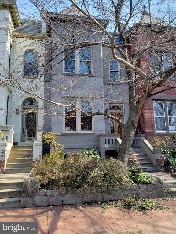 """MOVING Sale by owner SATURDAY APRIL 17th , 11 am, -3 pm! Or appointment.  Large Traditional home @3500sf, pocket doors and a swinging door provides distinct separation of main floor rooms. Four mantels and two working fireplaces. 3500+ interior square footage. Deep, 3 Level Brick Victorian Bay, with rich polished oak/chestnut woodwork (3 sets of pocket doors, center hall staircase.  3 BR's up. A table size kitchen with a rear staircase to the upper level. 1 BR Lower Level inlaw suite with 2nd kitchen, fireplaces, bath and shared laundry. Lower level has seperate electric, high ceilings recess lights, front & rear entry. And a crawl space which could allow a lower level 2nd bedroom!     .  Capitol Hill is a place to live, grow & thrive. This internationally familiar area is surrounded by metros, parks, monuments, museums, markets, malls, menus, ... """"to HILL w/ the Suburbs... """" live here, live now, live long!"""