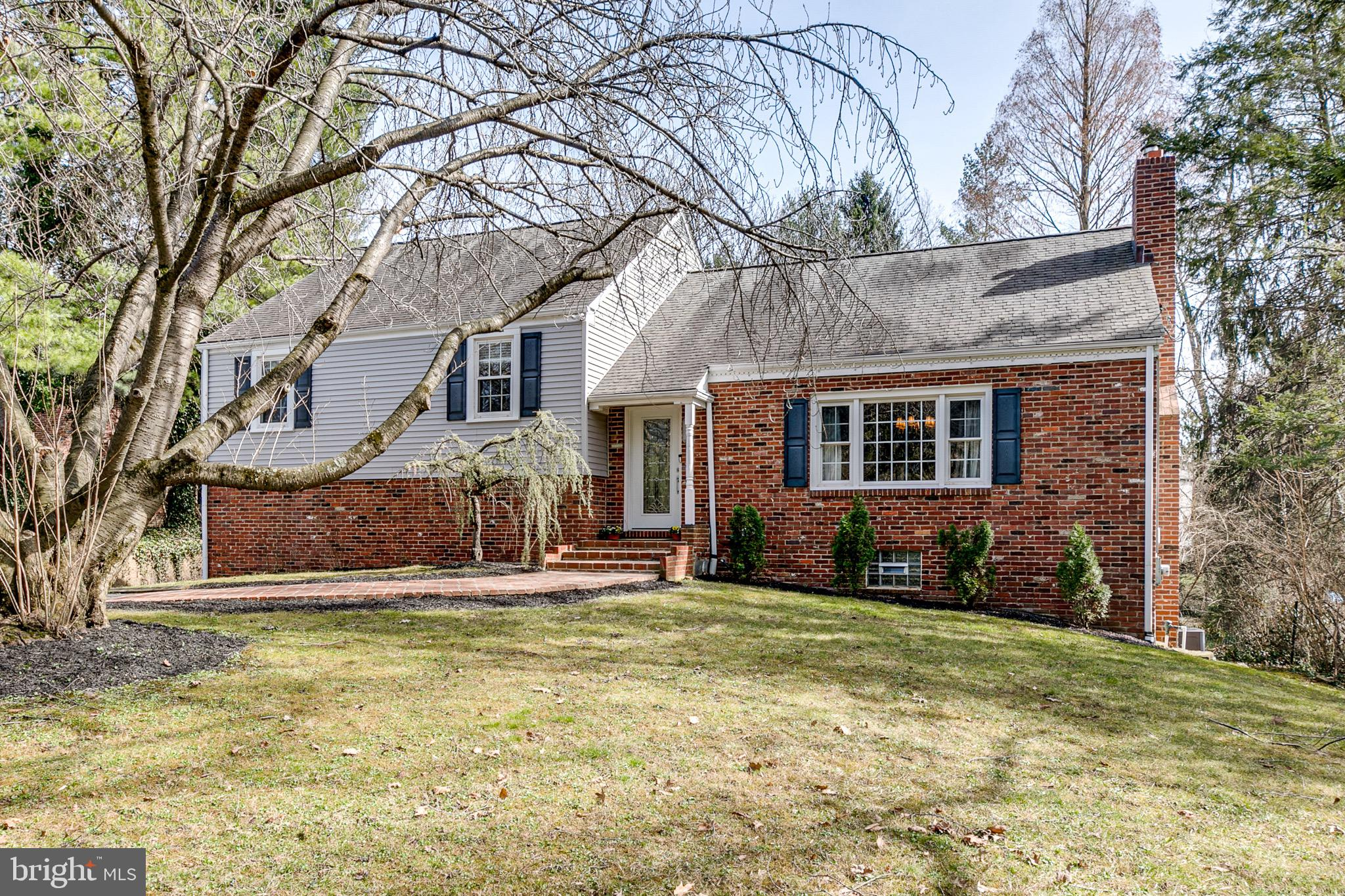 Located in the desirable Villanova neighborhood of Radnor Township, this split level home of 4 bedrooms, 2.5 bathrooms and a finished basement sits beautifully on almost a half acre of private grounds, which include a large built-in pool. An open floor plan creates an abundance of natural light throughout this updated modern gem.  The first floor offers a large living and dining area with a wood burning fireplace, a family room with vaulted ceilings, a spacious gourmet kitchen with custom cabinetry, stainless steel appliances, granite countertops, breakfast bar, and breakfast area. The second floor has a master bedroom with an en-suite & walk- in closet, two large and sunny bedrooms, and an updated hall bathroom. A few steps up to the third floor is a sizable fourth bedroom plus a large finished room that can be used as an office, playroom, or study.  The lower level, which was recently renovated, is currently used as a workout area, recreation room, and a large family room. The lower level provides rear door access to the patio, back yard and pool area - perfect for summer entertaining. Recent updates were: painting the interior in soothing neutral colors; security system and cameras; GE washer & dryer; GE Profile Wifi double oven & microwave; tile flooring in laundry room and lower level.  A prime Radnor location in the highly ranked Radnor School District, with easy access to shopping, restaurants, the train station, and major highways for an easy access to the airport and downtown Philly.   Move in ready !