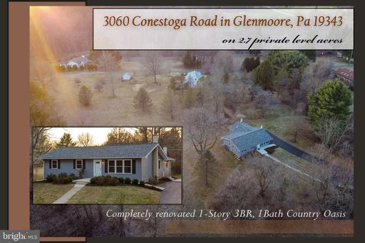 Property for sale at 3060 Conestoga Rd, Glenmoore,  Pennsylvania 19343