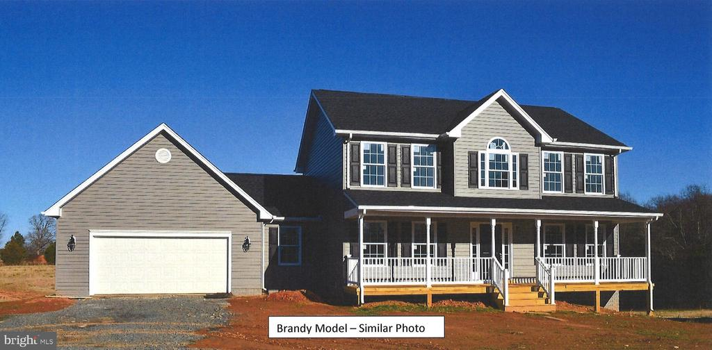 BRANDY MODEL - TO BE BUILT on just over 10  wooded acres. On the main level, family room opens up to the breakfast nook and kitchen with granite counter tops and stainless steel appliances, Separate dining room off of Kitchen which faces the front of the home,  half bath, and large laundry room coming in from the garage. Upper level with 3 bedrooms and 2 baths. Master bedroom includes a sitting room, 2 walk-in closets, and large master bath with separate sink vanities, tile flooring, walk-in shower and soaking tub with tile tub surround. Unfinished basement with bathroom rough in for future expansion. There is still time to make your selections. 5 other lots available on Beaver Creek Ct.  Please call for more information.