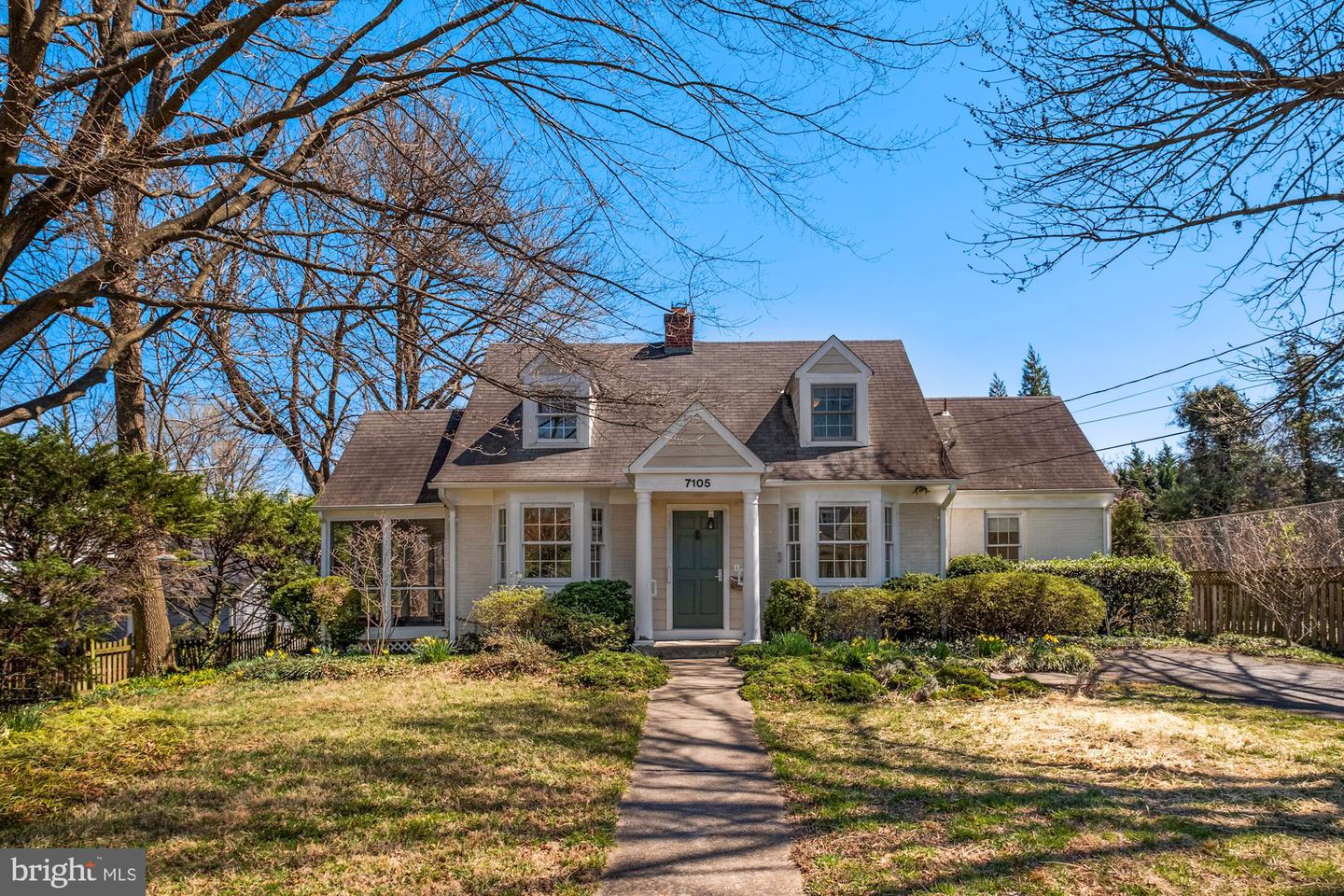 7105 Delaware Street   - Chevy Chase, Maryland 20815