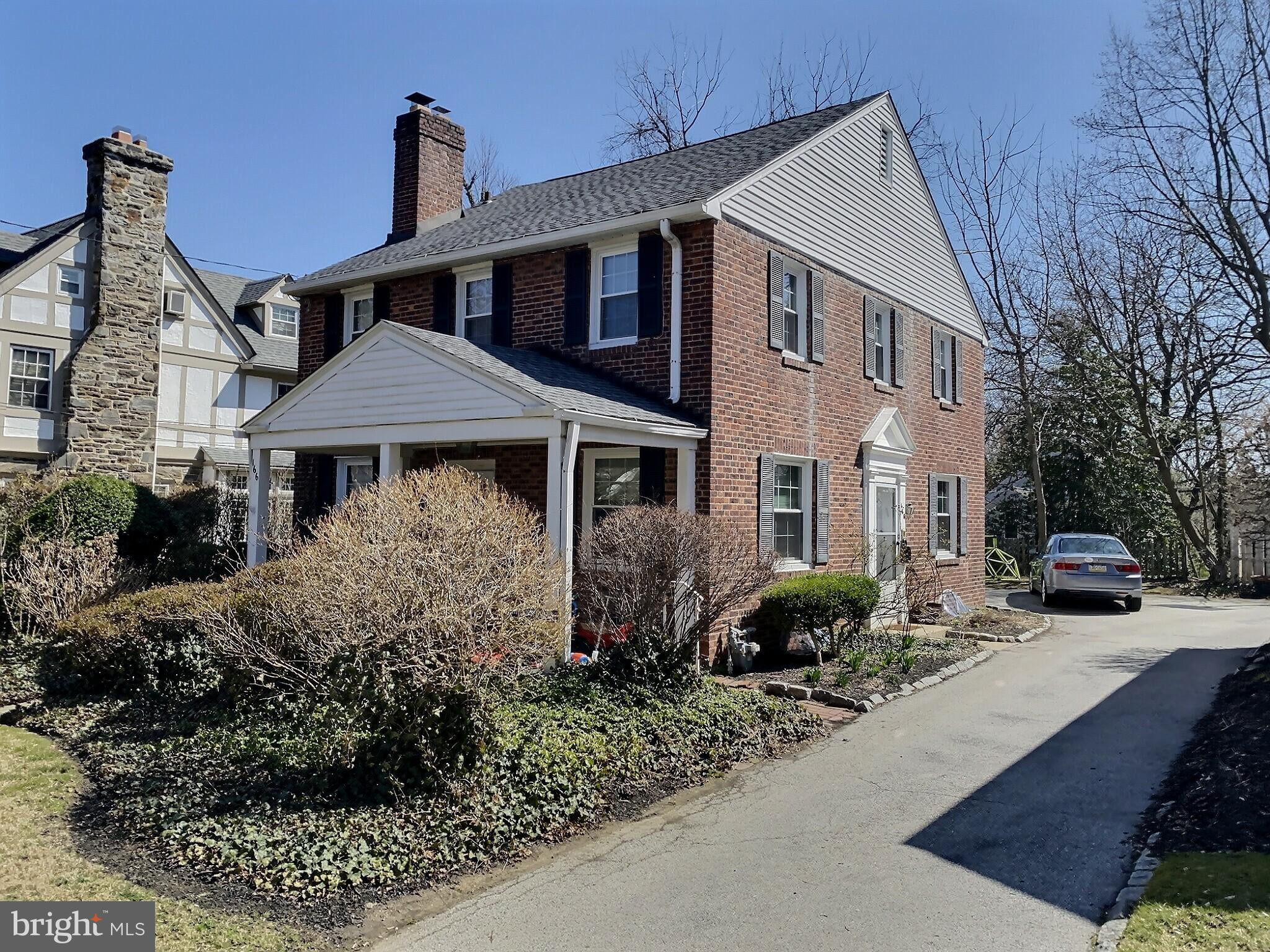 Currently tenant occupied, this 3 bed 3 bath brick colonial has so much potential as an investment property or for an end user! First floor has a large living room with fireplace, the formal dining room leads to the kitchen with an eat in area and large pantry. First floor laundry room is located off the kitchen. There is a full bath on the first floor adjacent to the attached garage-currently being used for storage-that can be converted into an extra living space or bedroom. 3 large bedrooms - all with windows on 2 walls, and 2 full bathrooms upstairs. Family room is located in the basement & is a great space with high ceilings and natural light. With a covered porch, loads of storage throughout, wonderful walk to location, Lower Merion Schools this Bala home has so much to offer. Tenant occupied until July 31, 2021, Open house scheduled for Sunday 10am-1pm, Monday 1-3pm