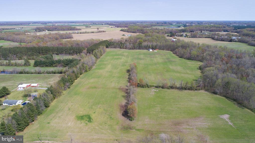 Come take a look at this breathtaking  43+ acres of scenic farm land with a little over 33 tillable acres.    The current farmer is happy to continue to work the field if that is what you desire.  There is also an addition property for sale MLS# MDCM125322 that has a 3 bedroom 2.5 bath home on 26 acres.