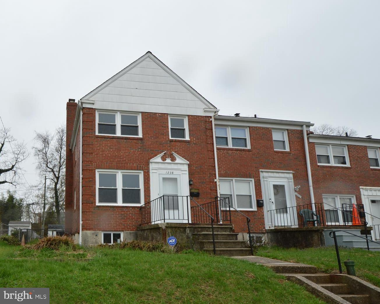 1238 Newfield Road   - Baltimore, Maryland 21207
