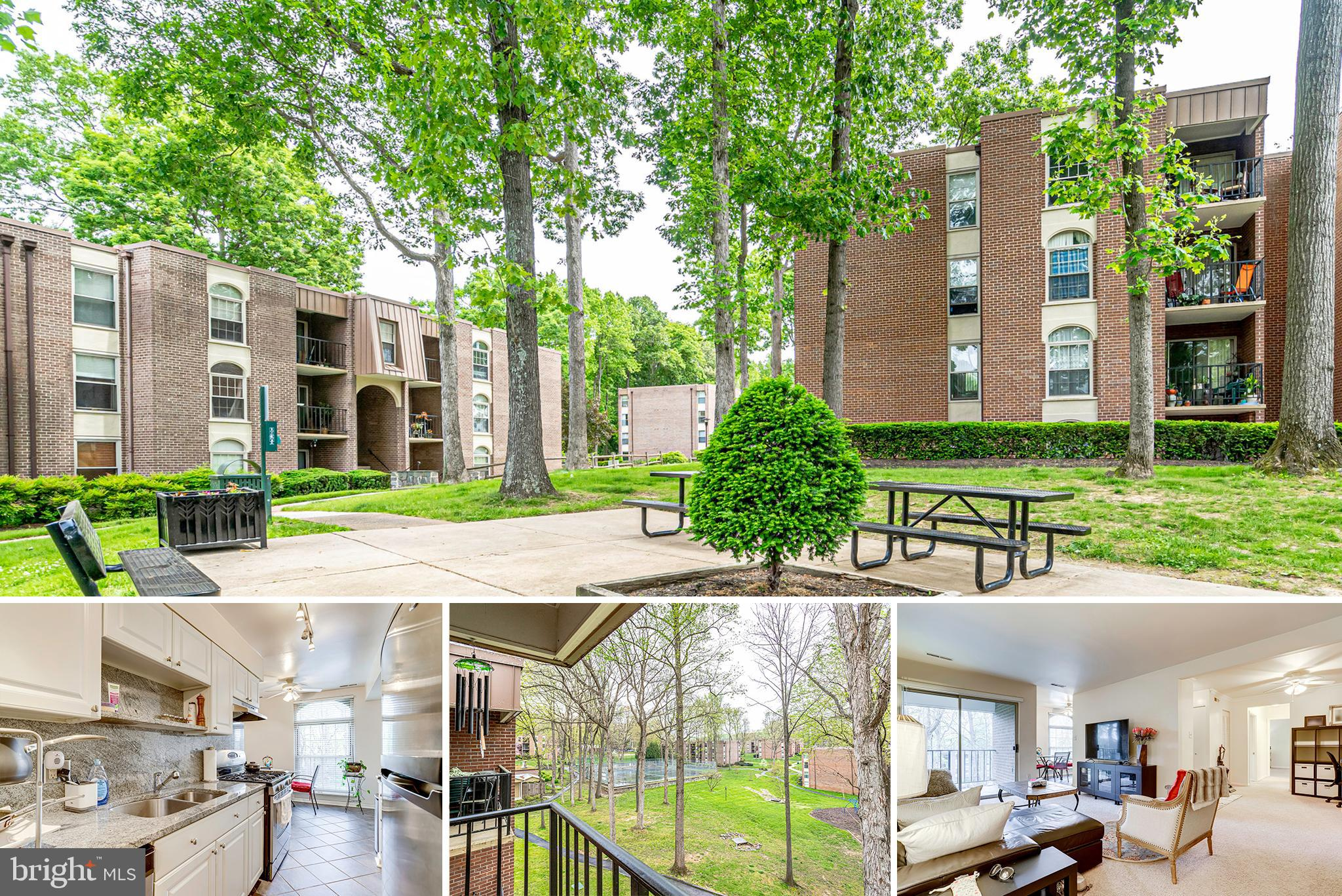 Wonderful updated large top floor 2br/1.5 ba condo at Woodburn Village. Updates throughout like kitchen cabinets, granite countertops, appliances, bathroom vanities etc.   Just steps from Fairfax Hospital - minutes from I-495, I-66 and Tysons Corner. Convenient to bus and metro, Mosaic etc.  Woodburn Village is a garden community with great common grounds, picnic areas, sports courts and outdoor pool. The condo fee includes all utilities.  Laundry and extra storage in basement.