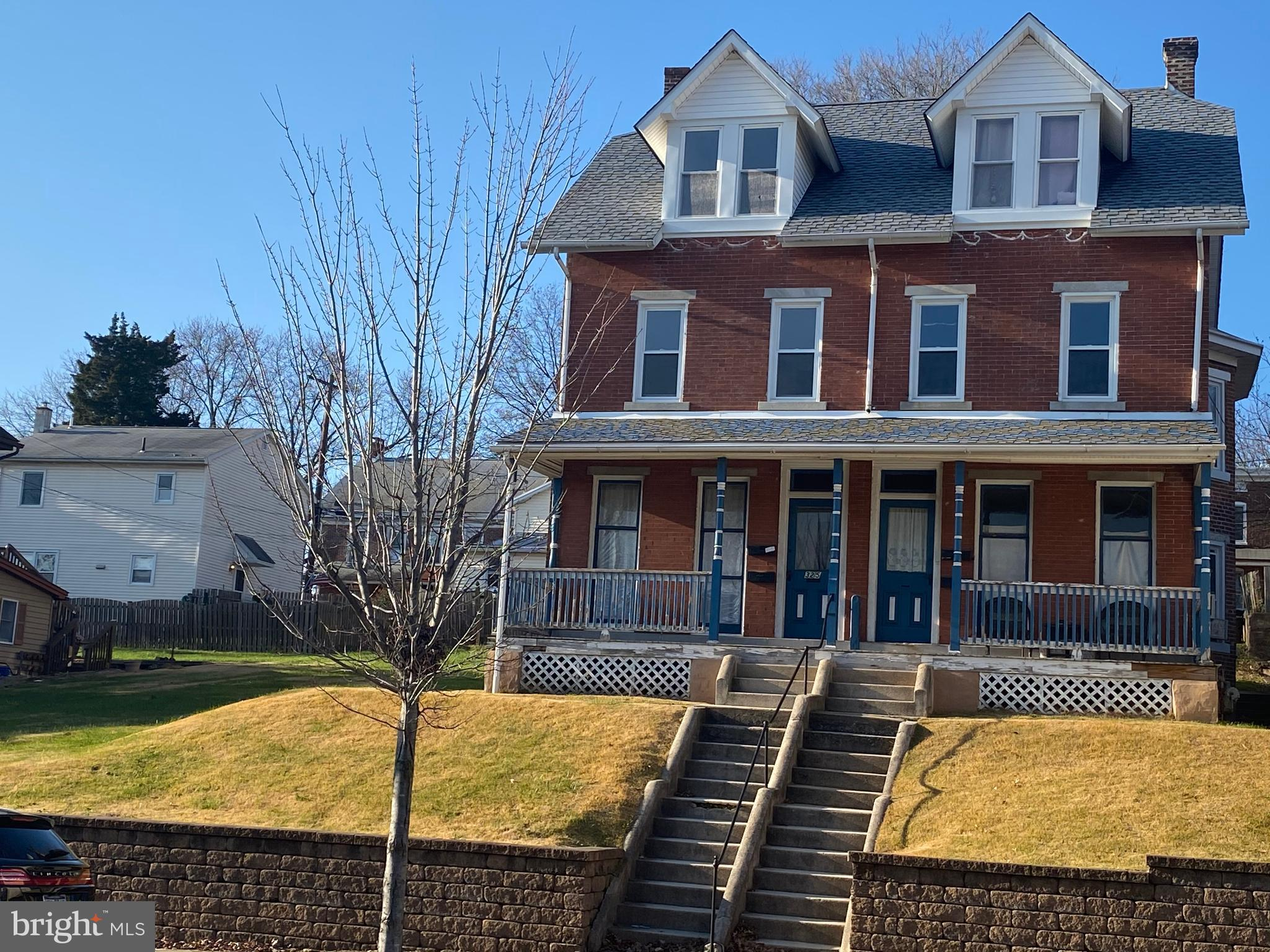 This well-maintained solid brick two-unit twin in the heart of Royersford's business district is a wonderful opportunity for an investor or owner/occupant! Currently consisting of two units (first floor one bedroom, and upper floor three bedroom), the property could be easily converted back to a 4Bd/2Ba single family home. This property may be sold individually or packaged together with 325 Main Street which has a mirror-image floor plan plus a large level side yard included that has the potential to build additional units, possible retail space, or to be subdivided and sold. The first floor one bedroom unit is currently occupied, and boasts great natural light, a spacious eat-in kitchen, and original woodwork & trim. The third floor unit is vacant! With so many possibilities and so much potential all in a fabulous location, don't miss this opportunity! Both units are currently rented.