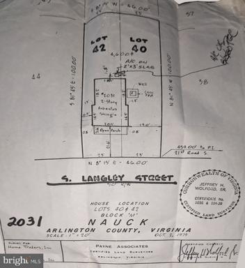 2031 S Langley St Arlington VA 22204